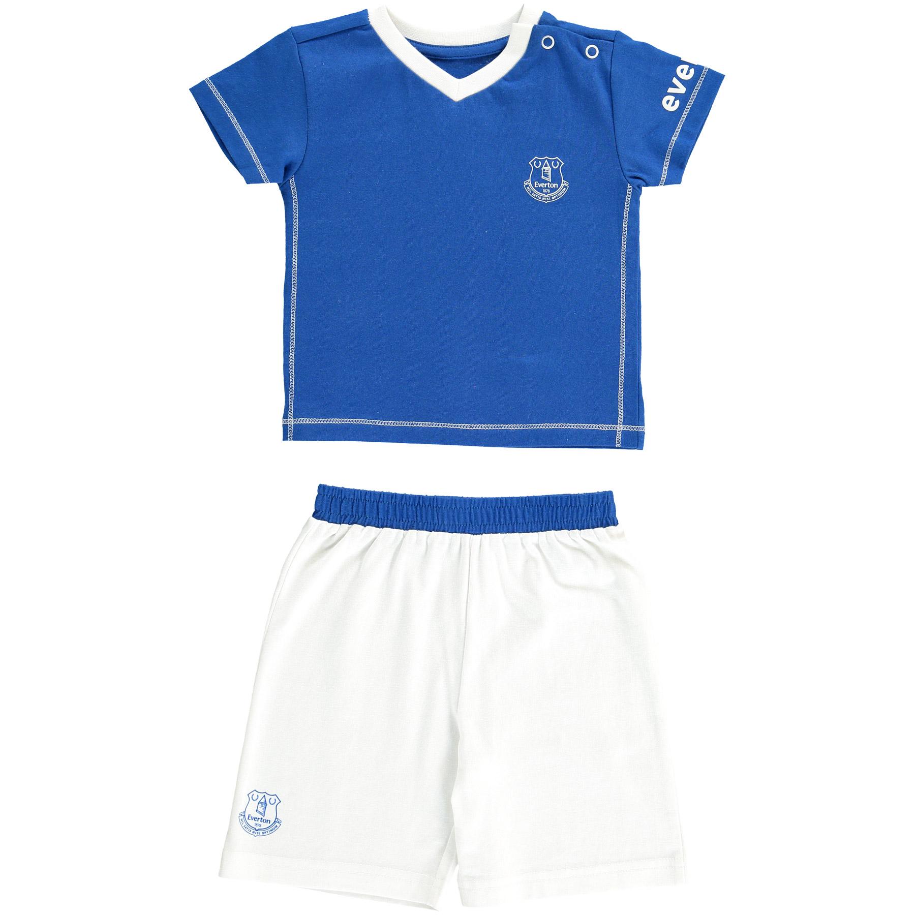 Everton 15/16 Kit Pyjamas -Everton Blue-White - Baby