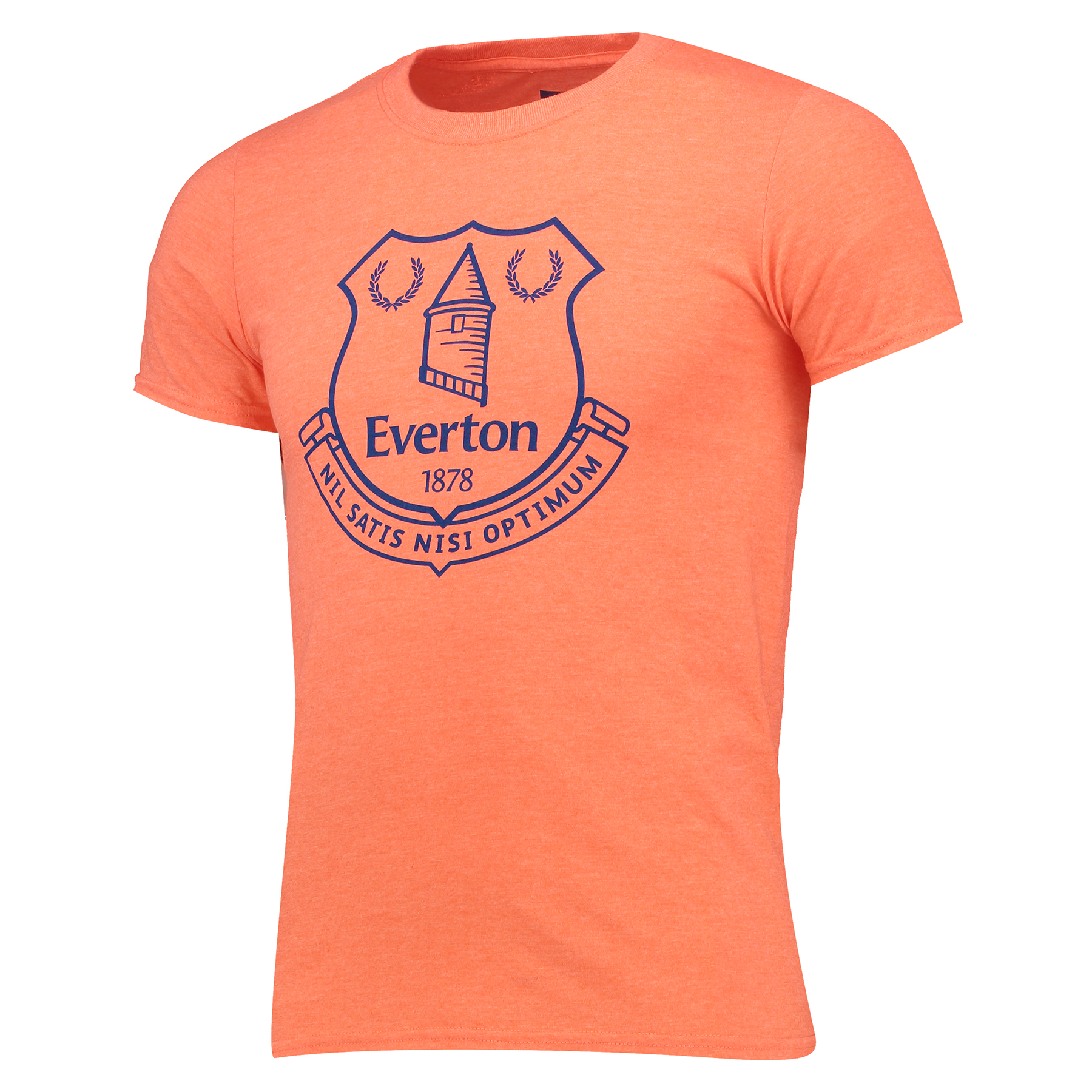 Everton Everton 2for20 Crest T-Shirt - Orange - Mens