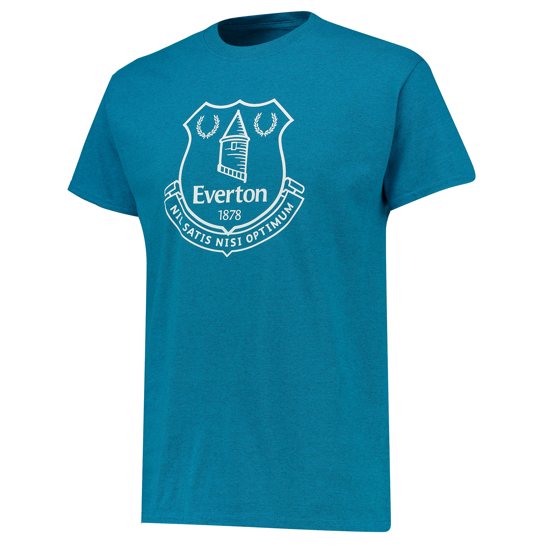 Everton Everton 2for20 Crest T-Shirt - Antique Sapphire - Mens