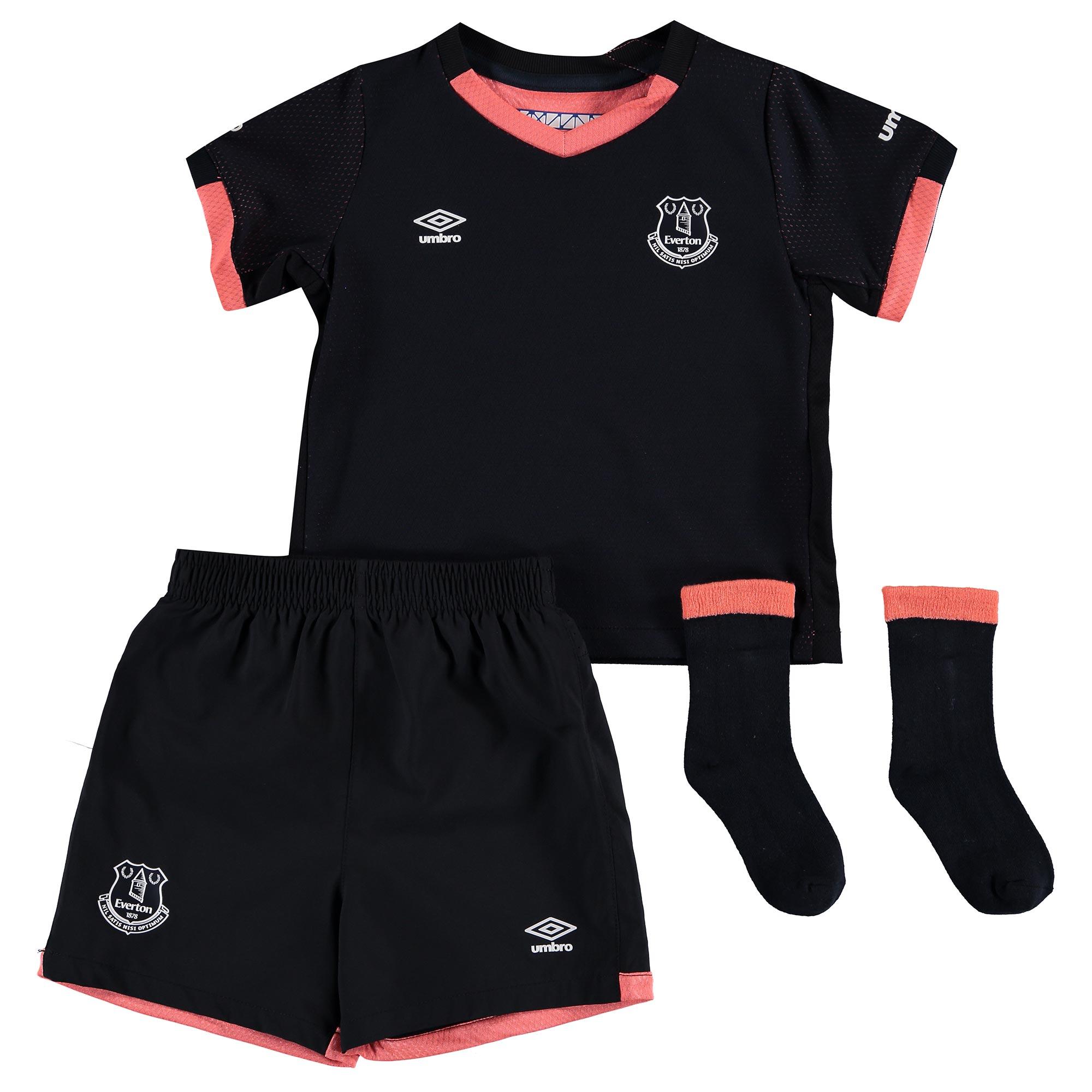 Everton Away Baby Kit 2016/17