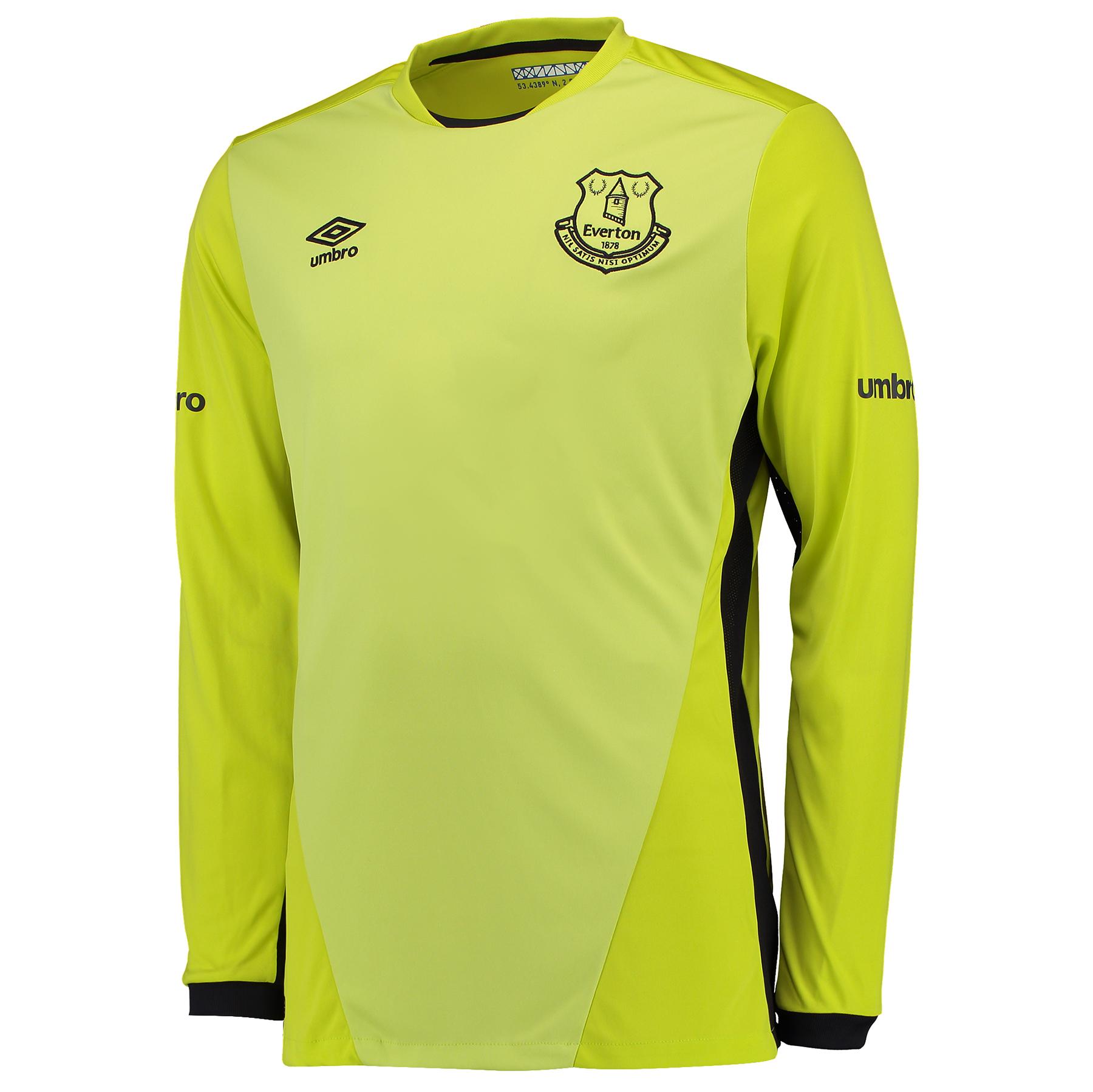 Everton Goalkeeper Home Shirt 2016/17 - Junior