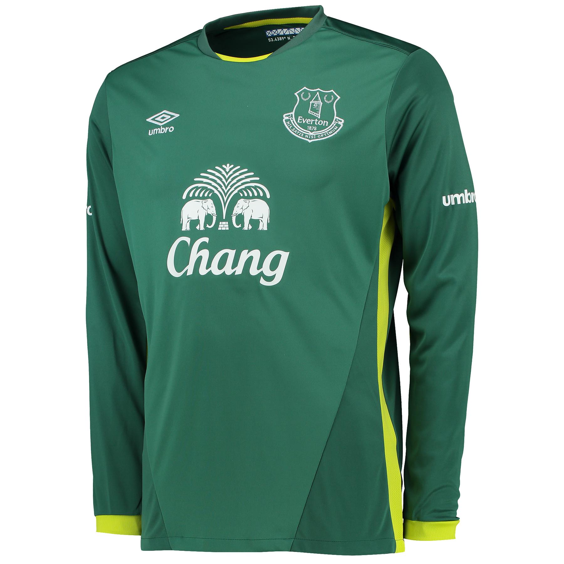Everton Goalkeeper Away Shirt 2016/17
