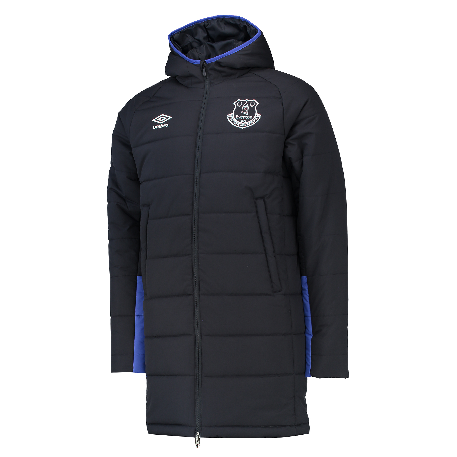 Everton Training Padded Jacket - Galaxy/Dazzling Blue