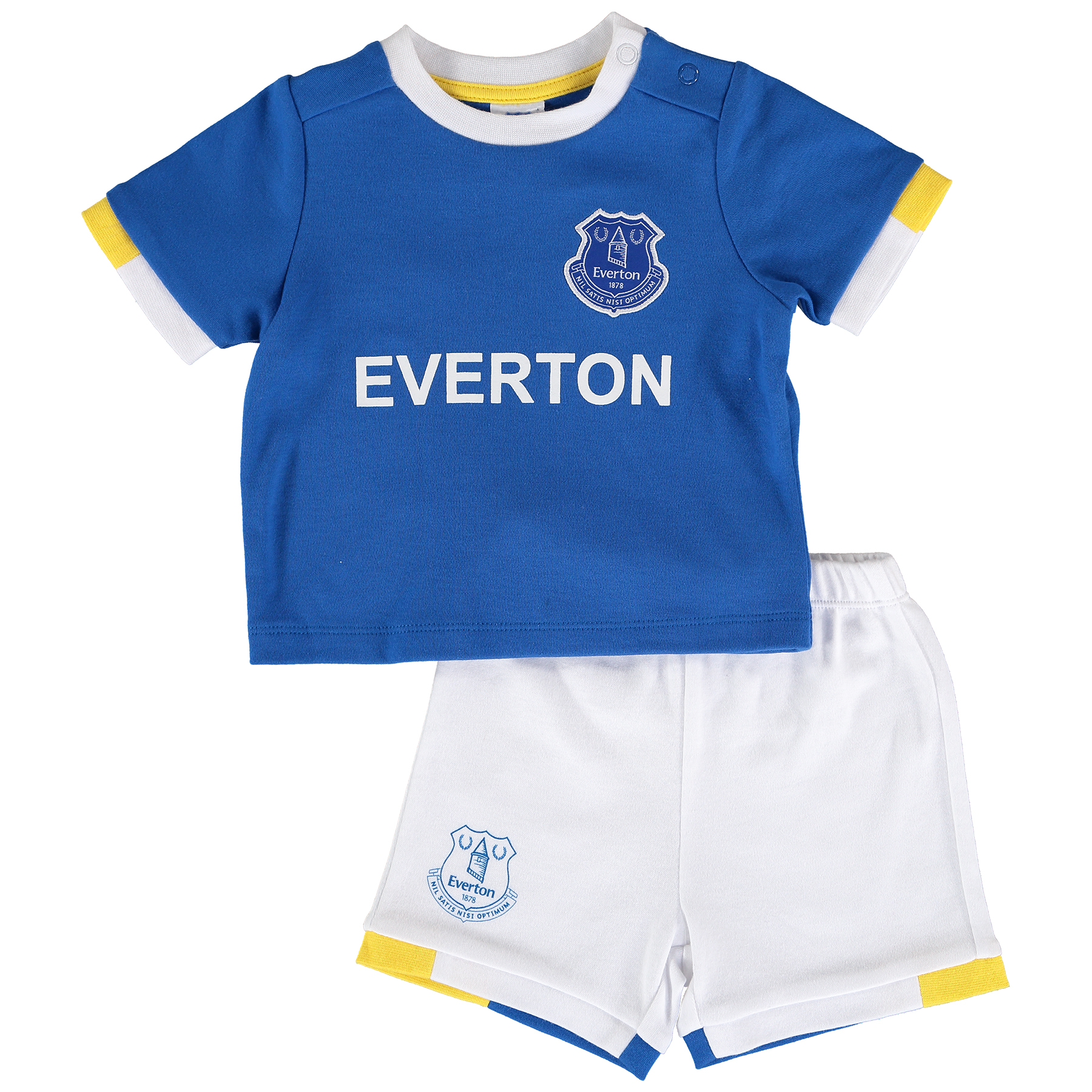 Everton T-Shirt and Short Set - Royal/White - Baby