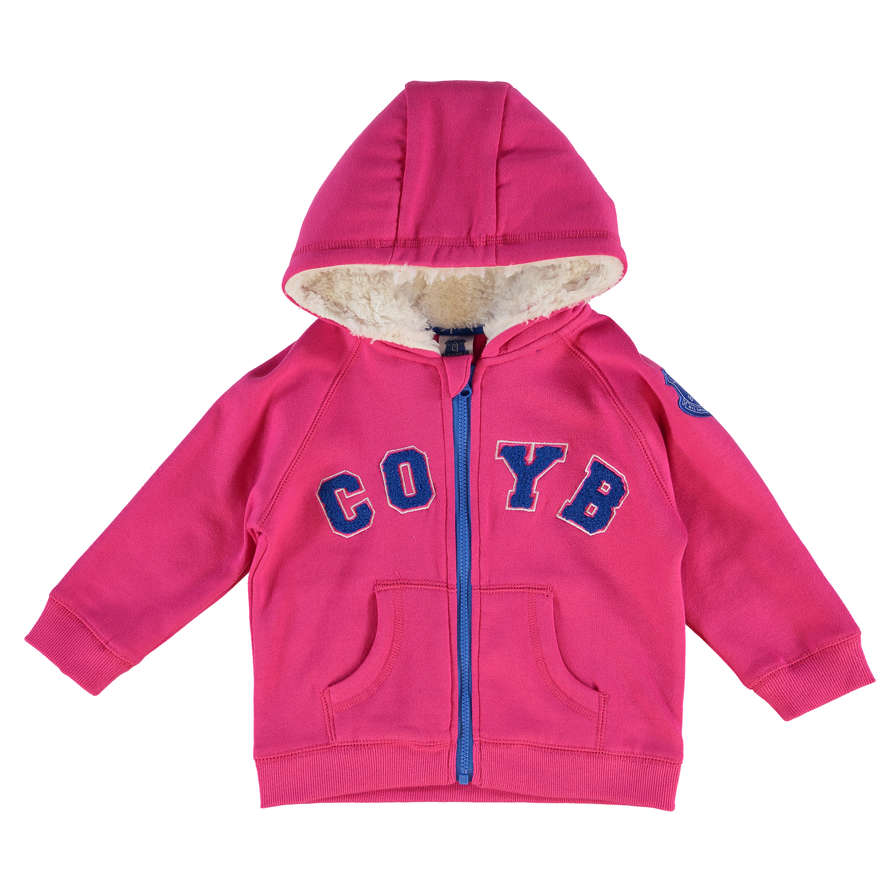Everton Full Zip Hoodie - Pink - Baby