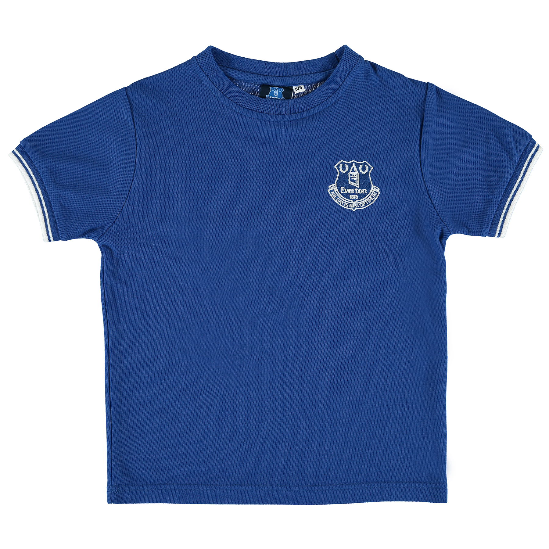 Everton Essentials Pique T-Shirt - Royal - Junior