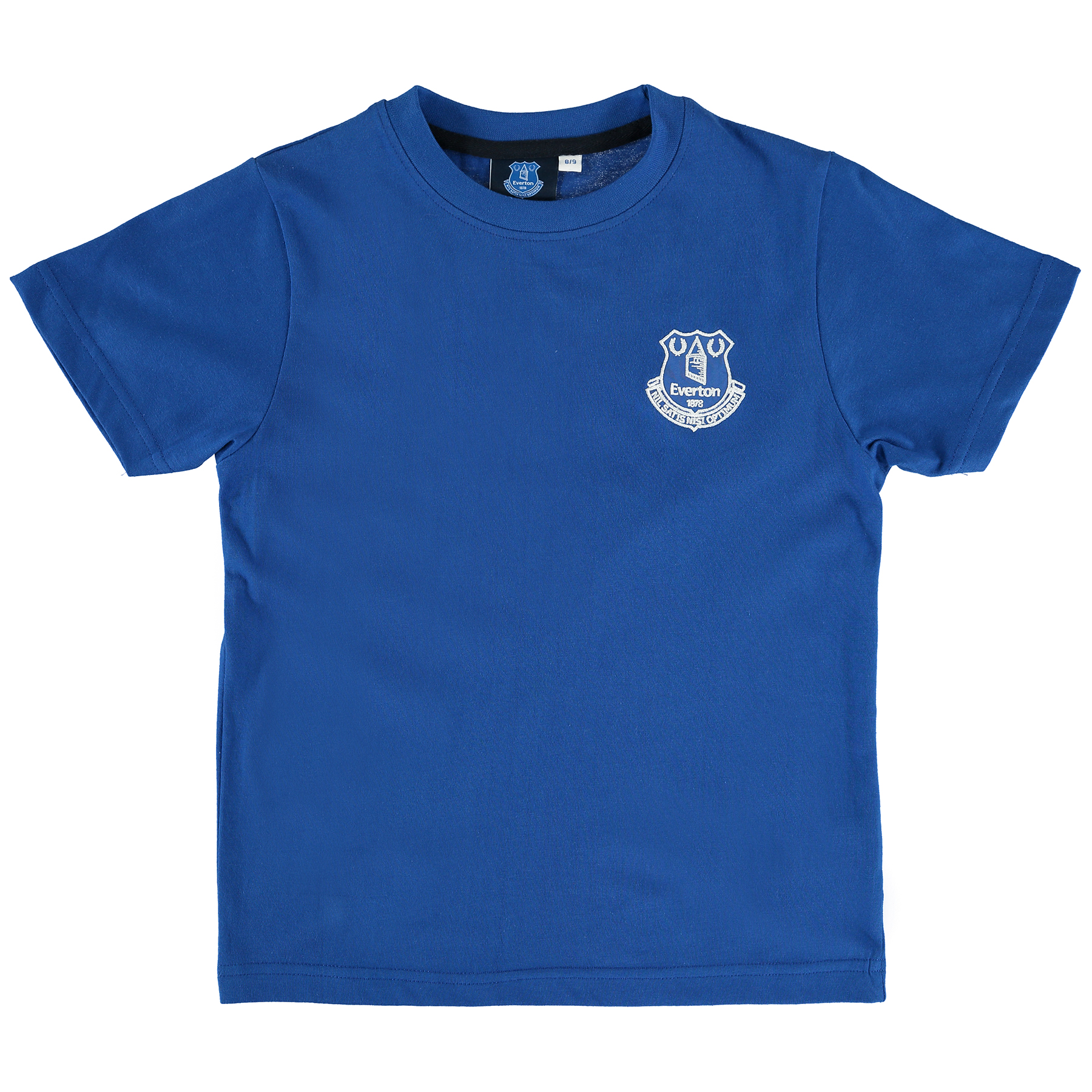 Everton Core Crest T-Shirt - Royal - Junior