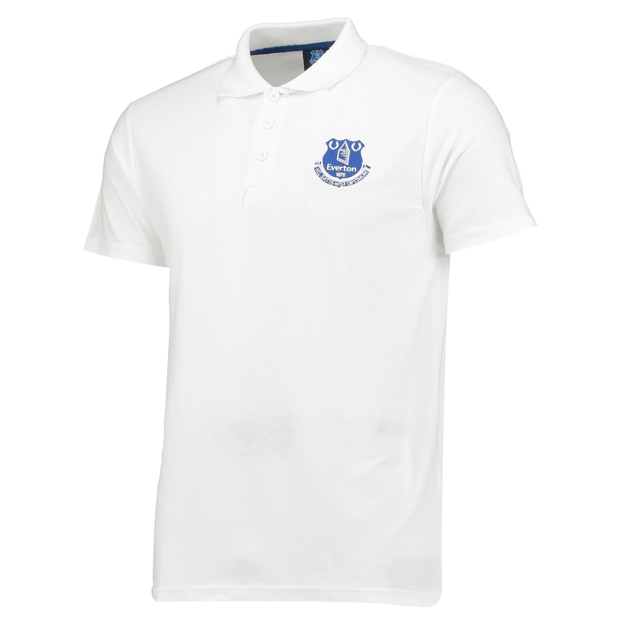 Everton Core Crest Polo Shirt - White