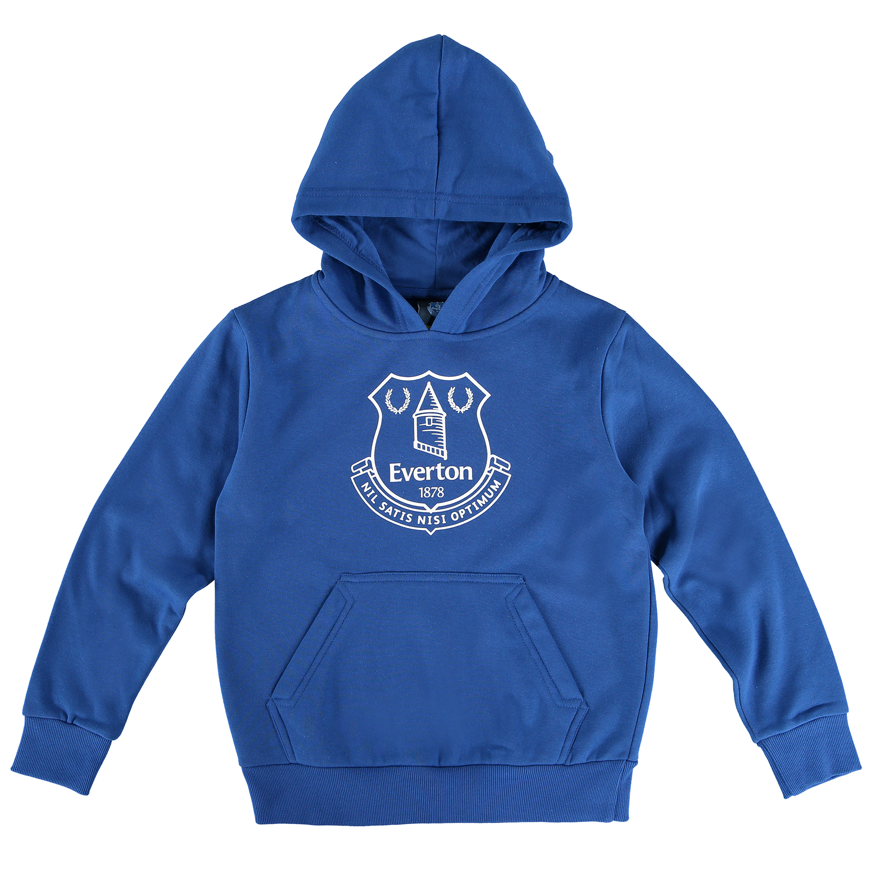 Everton Core Crest Hoodie - Navy - Junior