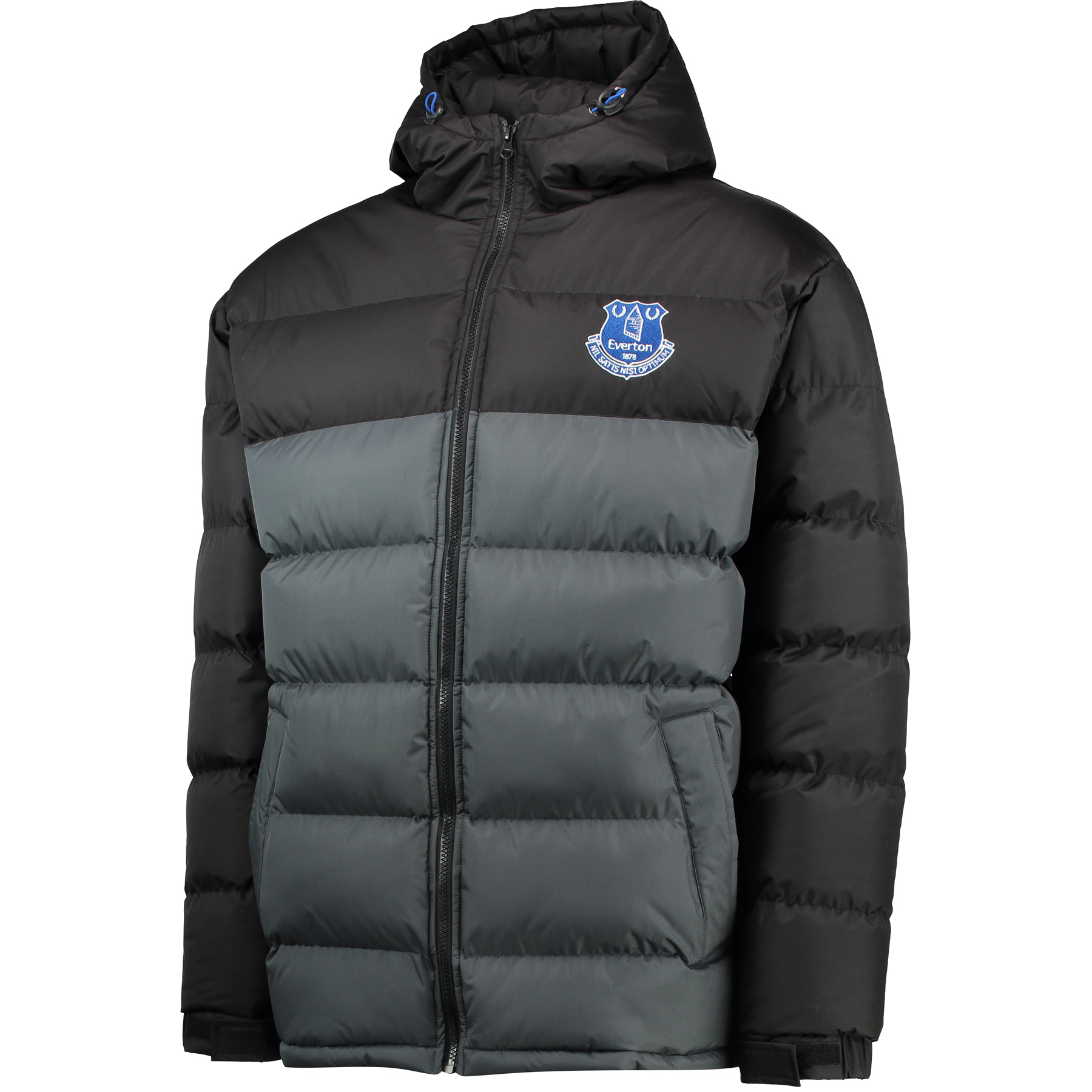 Everton Essentials Padded Coat - Grey/Black