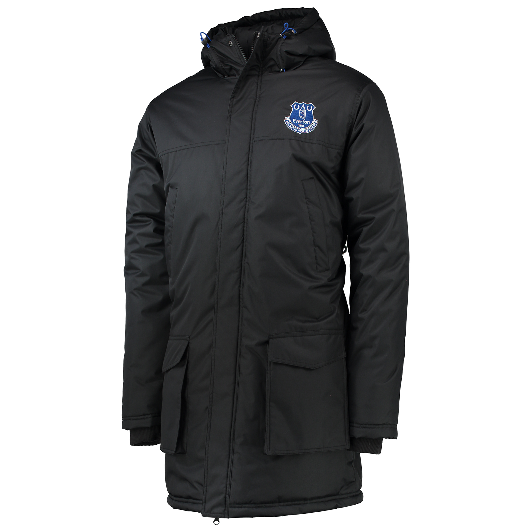 Everton Essentials Padded Coat - Black