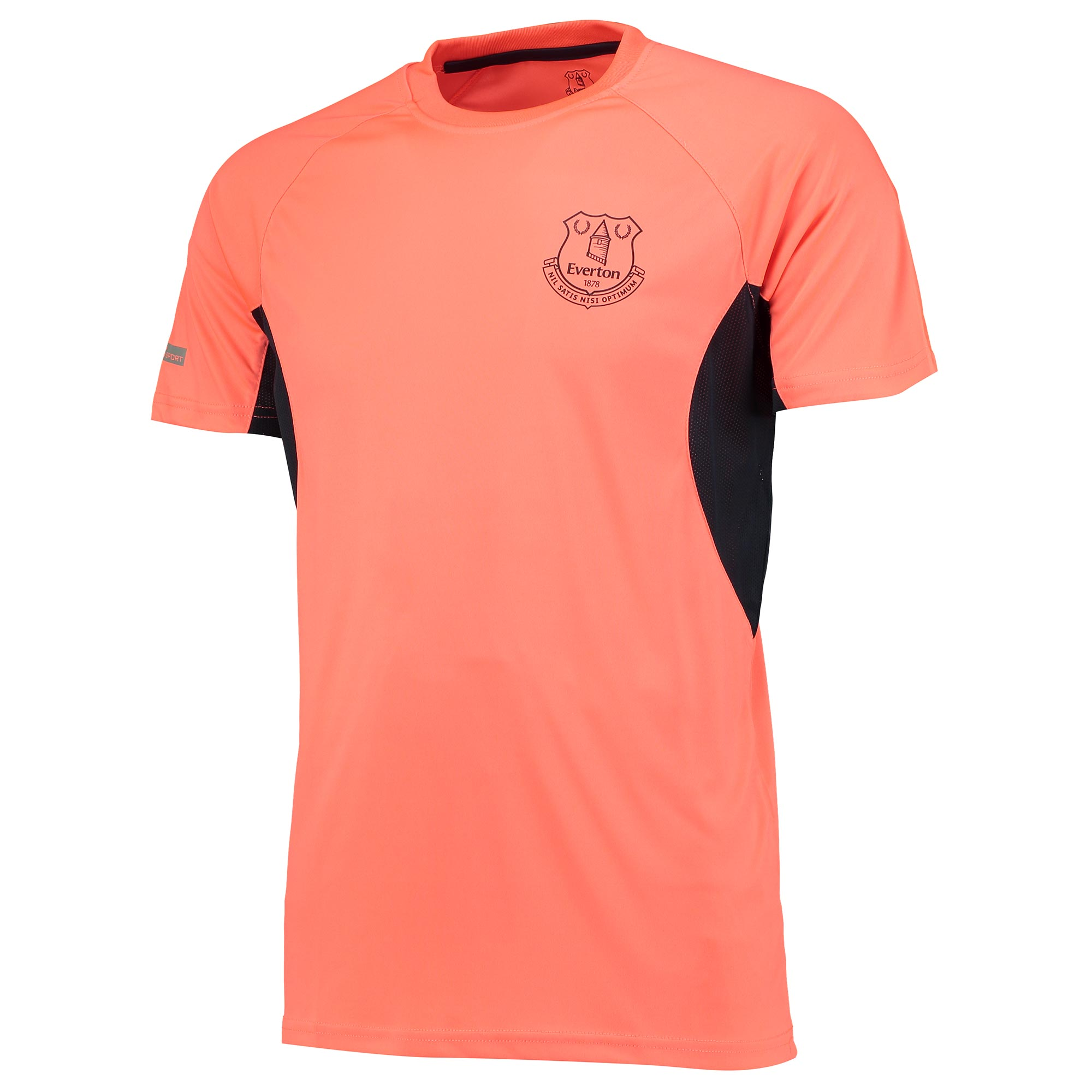 Everton Sport Poly T-Shirt - Coral