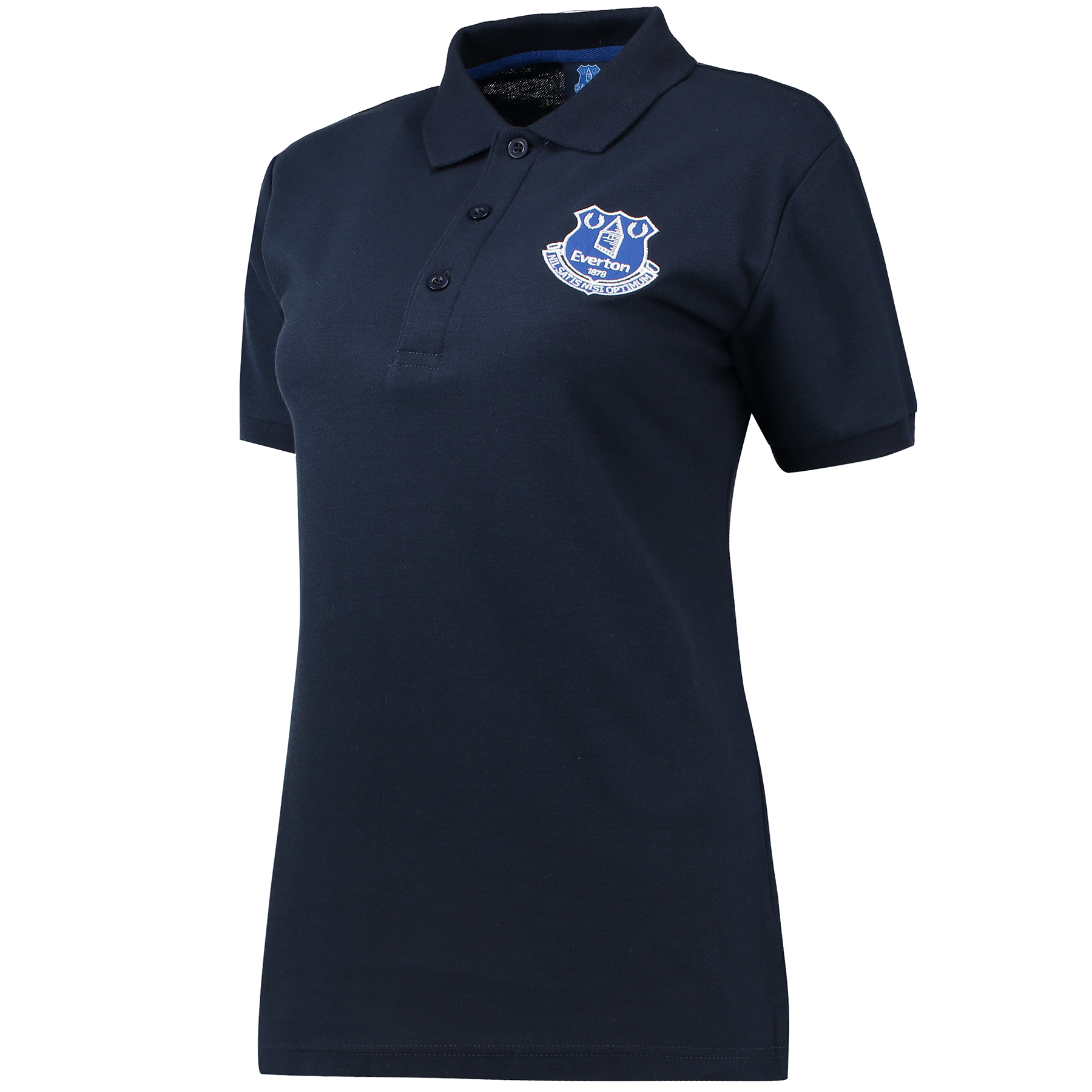 Everton Essentials Polo - Navy - Womens