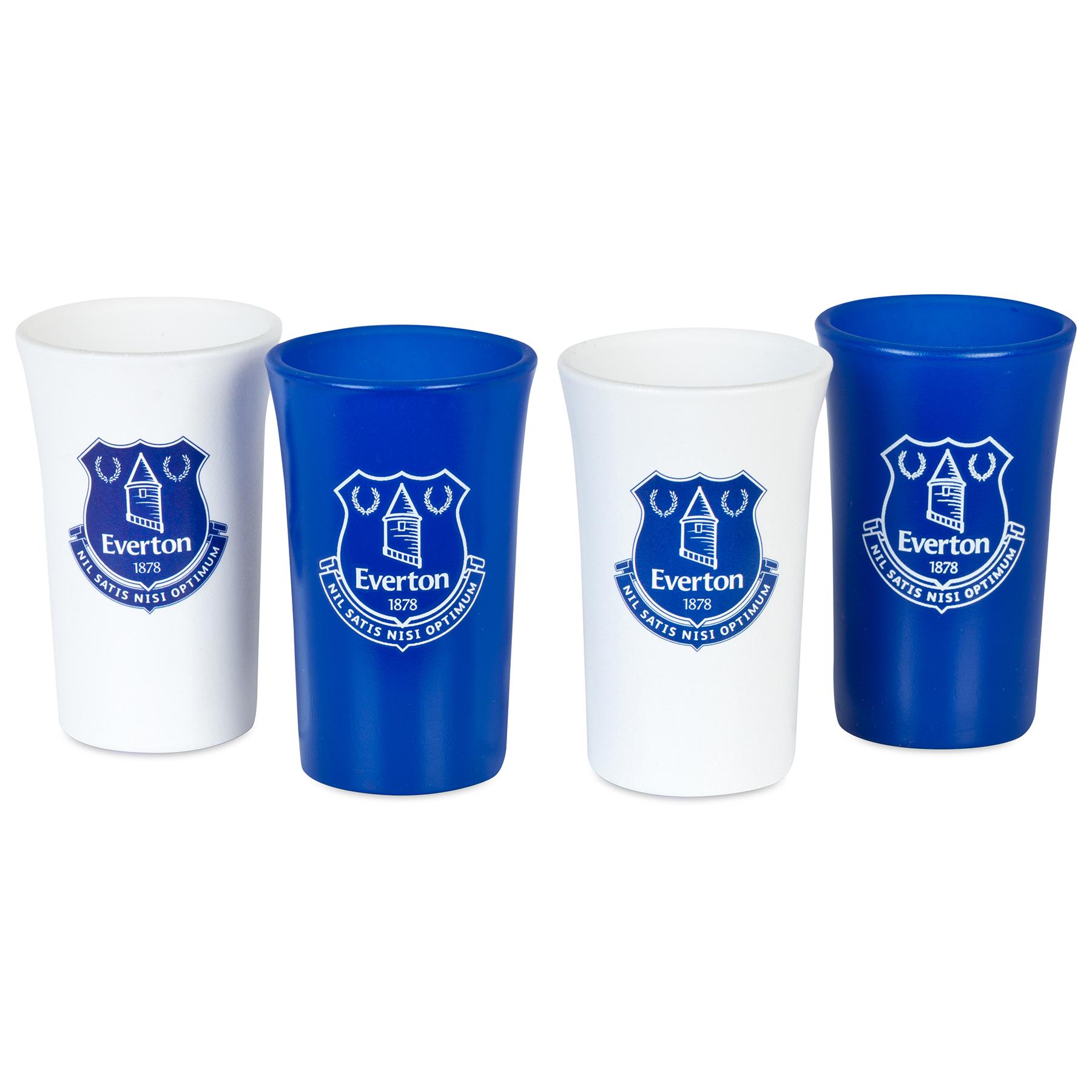 Everton Shot Glasses - 4 Pack