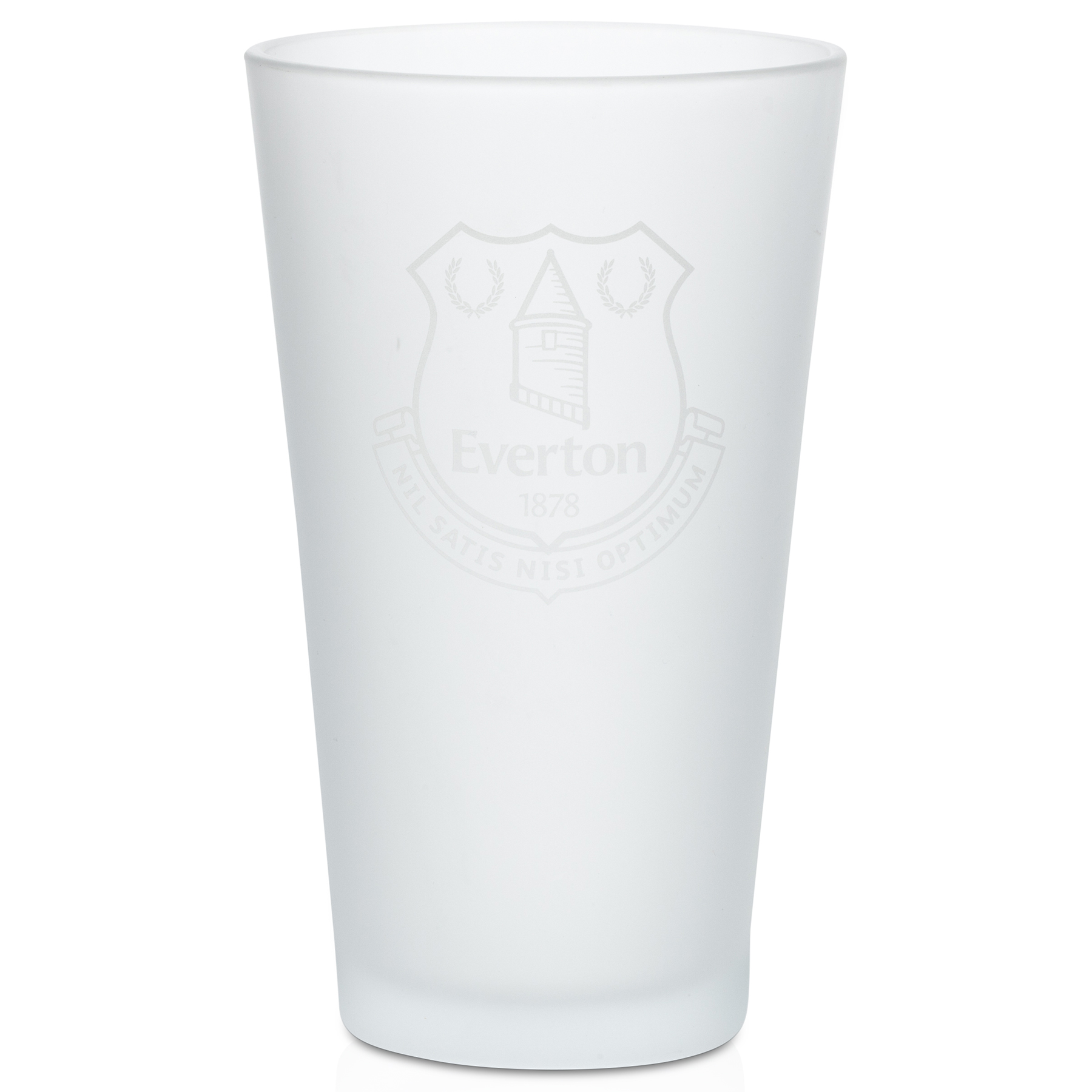 Everton Frosted Pint Glass