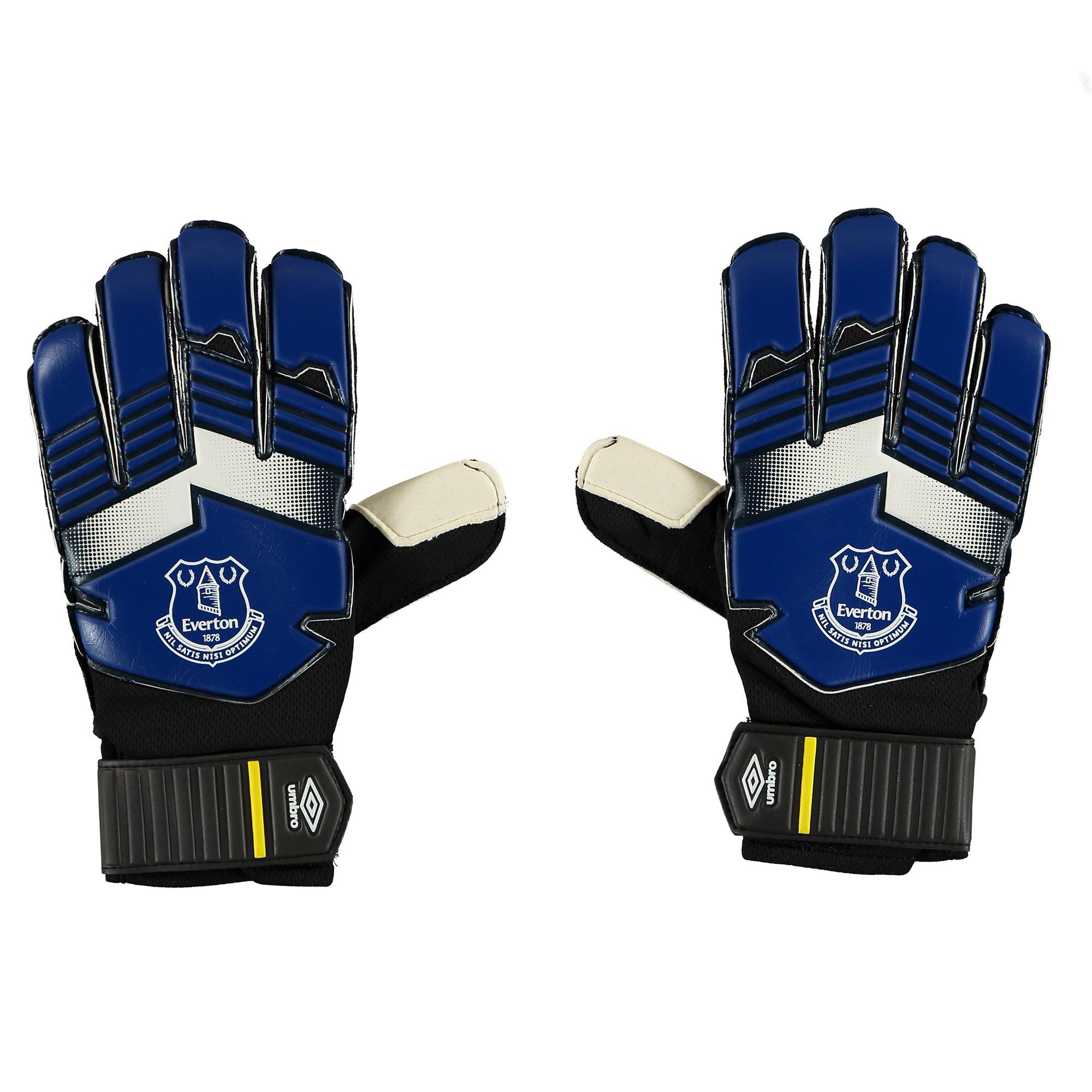 Everton Neo Club Glove - Junior - Deep Surf/White/Black/Yellow