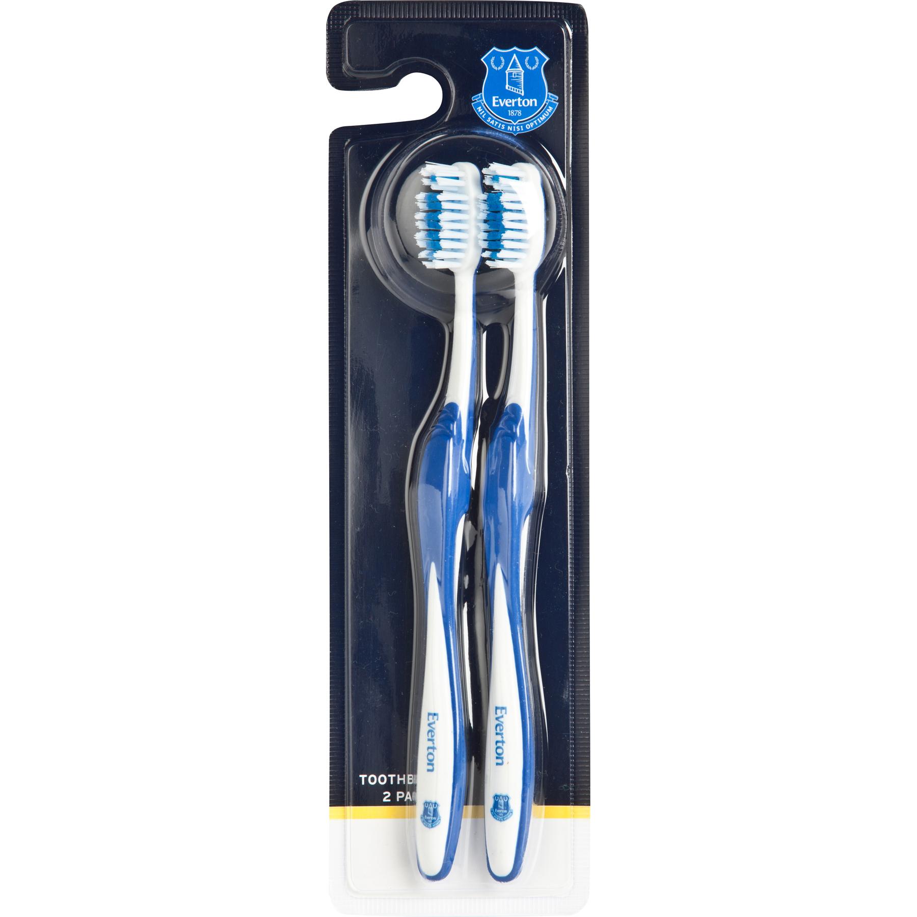 Everton Twin Pack Toothbrush