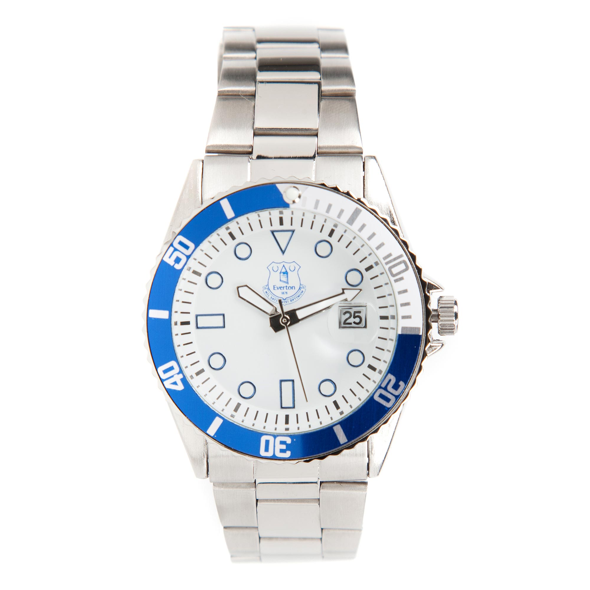 Image of Everton Analog Stainless Steel Bracelet Watch - Mens