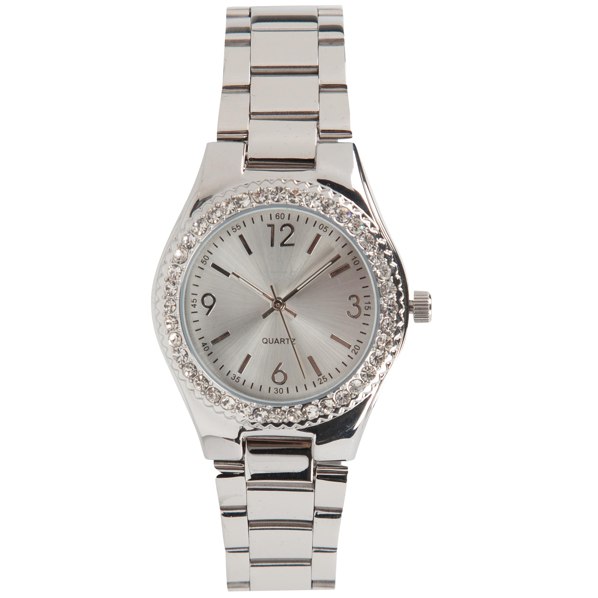 Everton Analog Rhinestone Watch - Womens