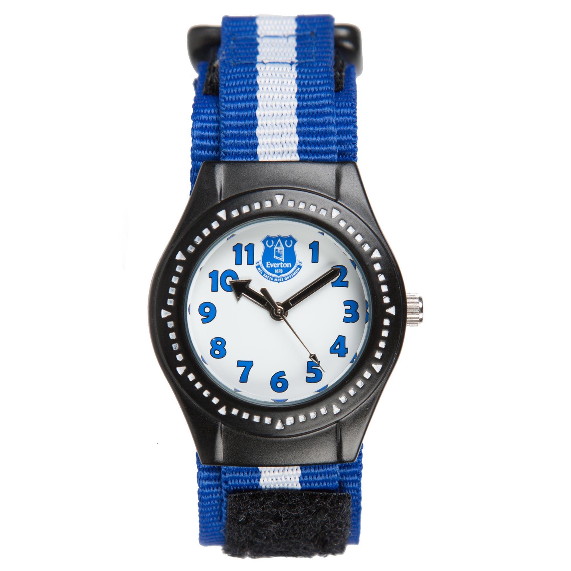 Everton Analog Nylon Strap Watch - Junior