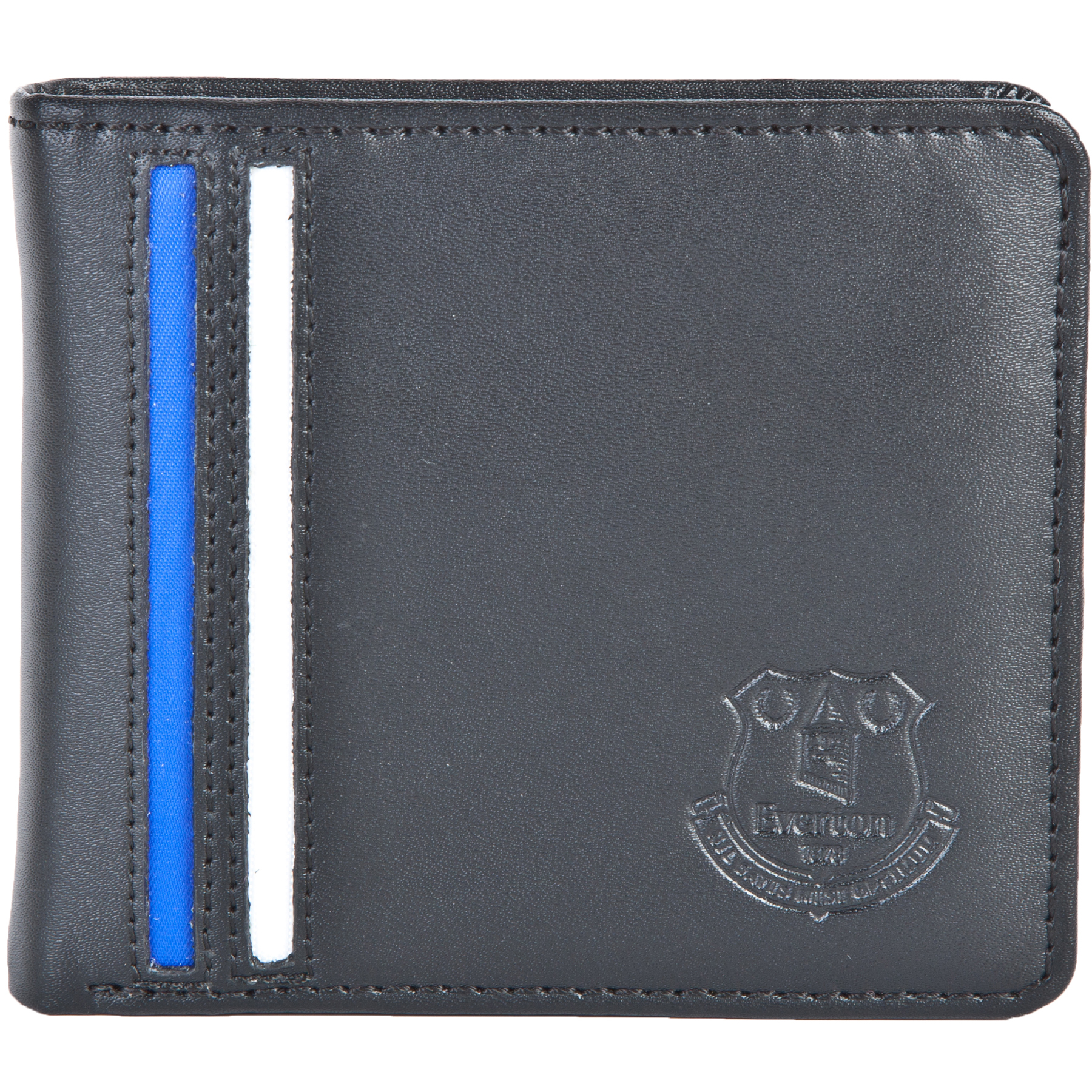 Everton Embossed Stripe Wallet