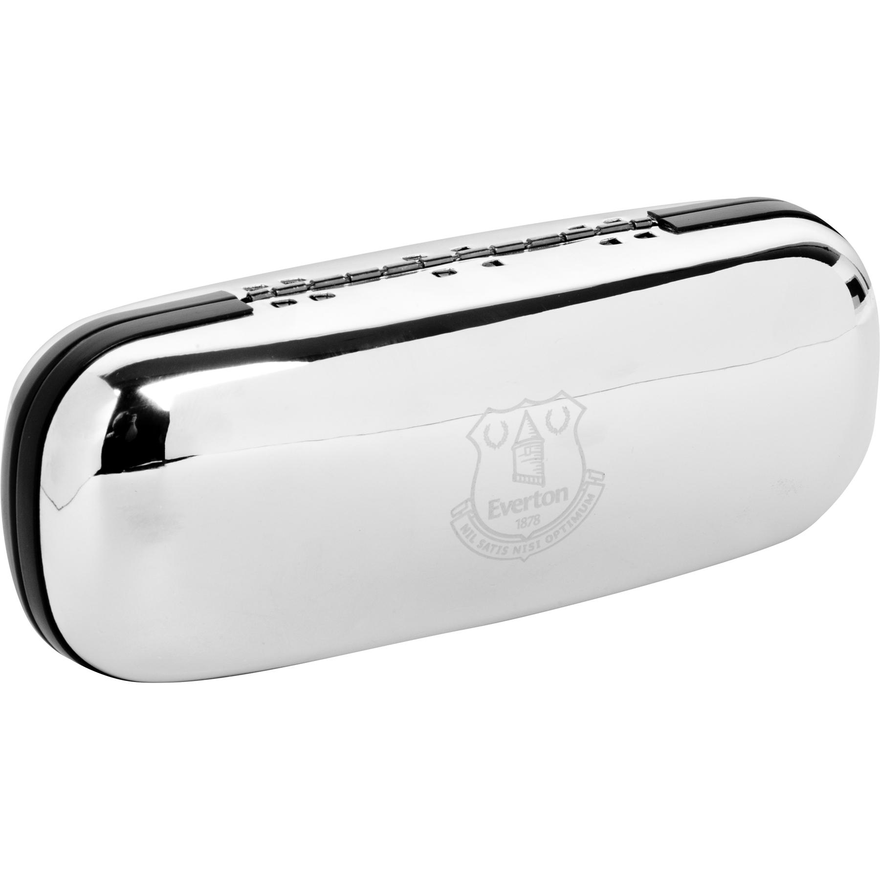 Everton Chrome Plated Glasses Case