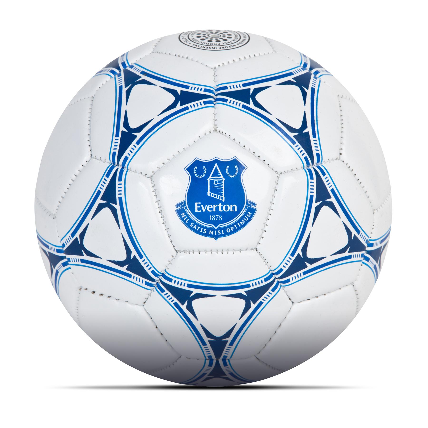 Everton Size 2 Football - White