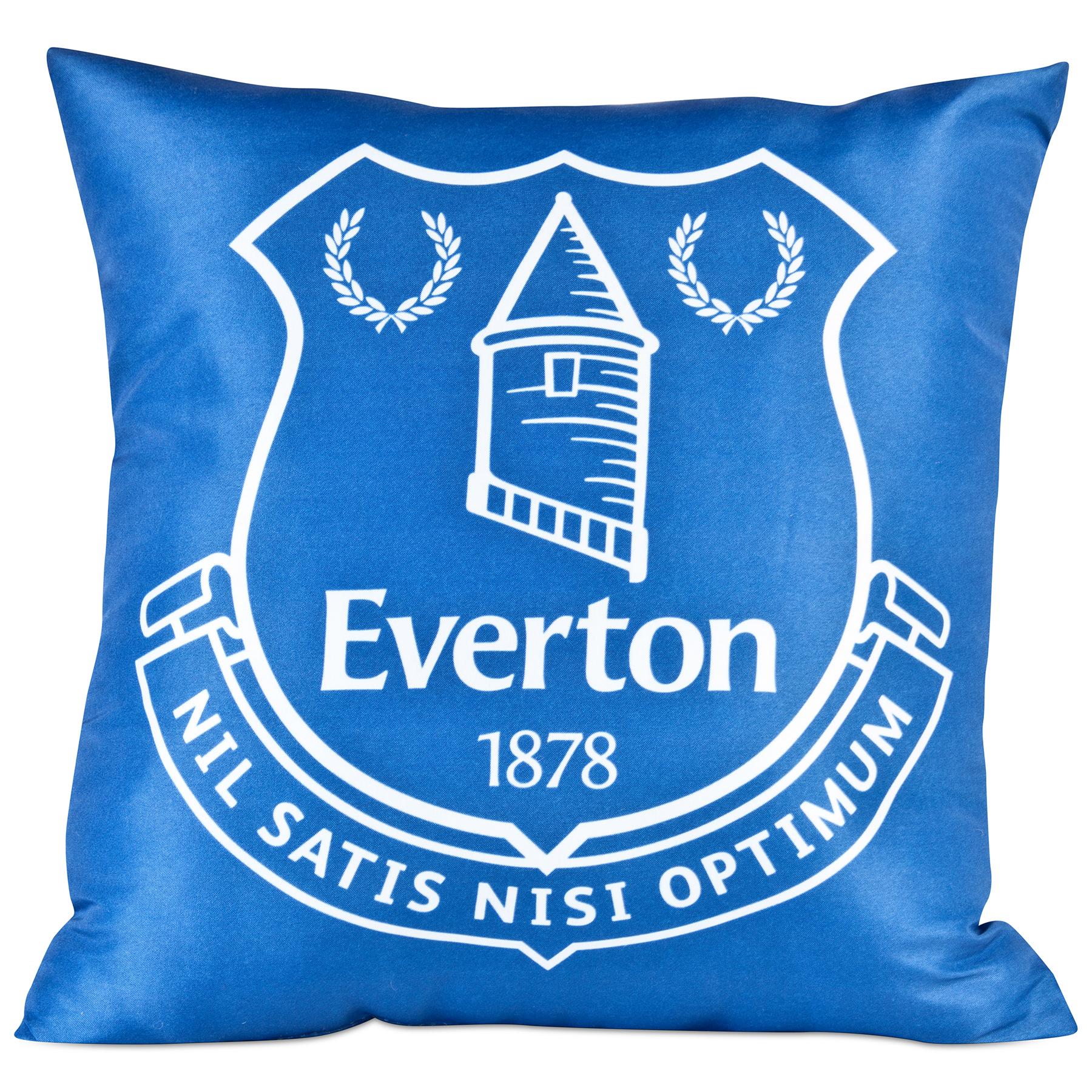 Everton Crest Cushion 35cm