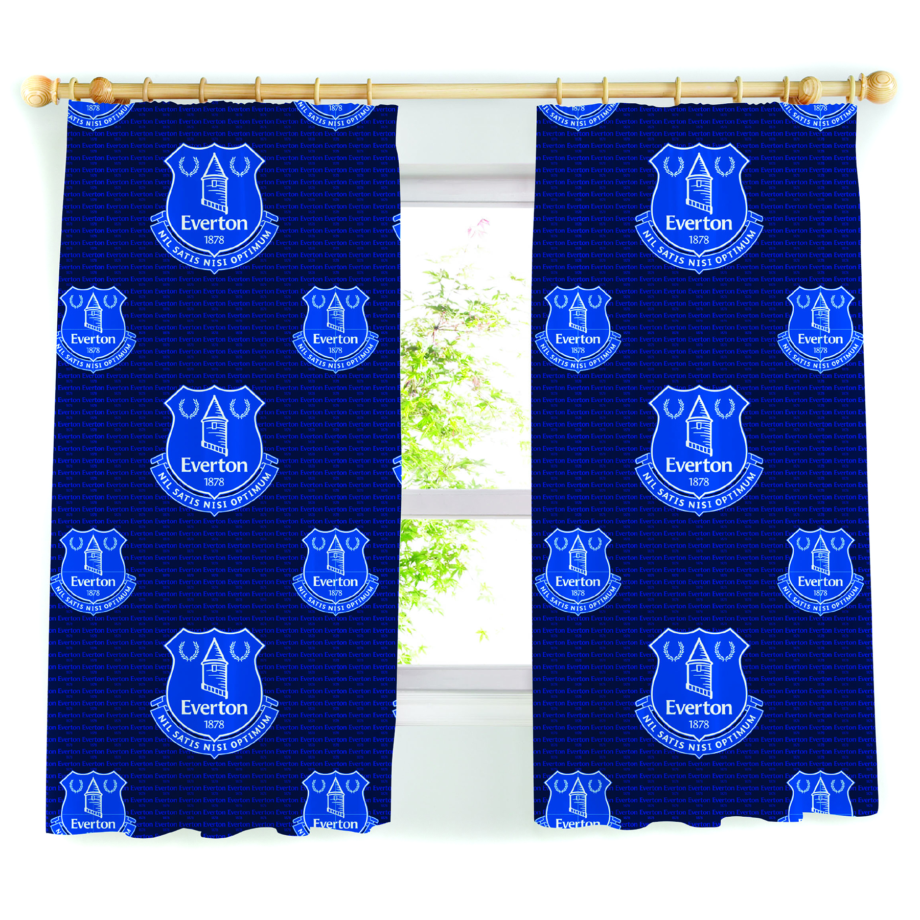 Everton Curtains 54In