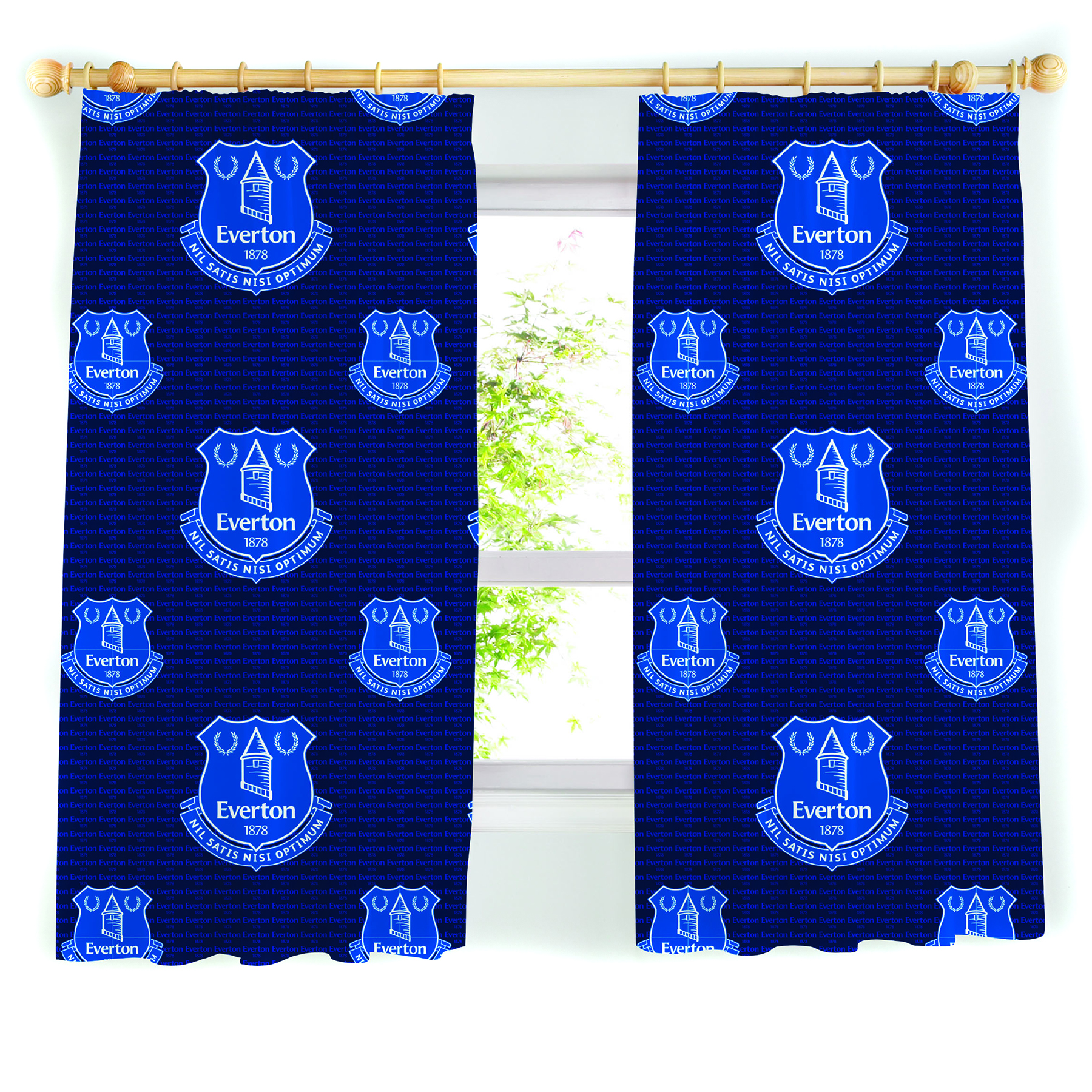 Everton Curtains 72In