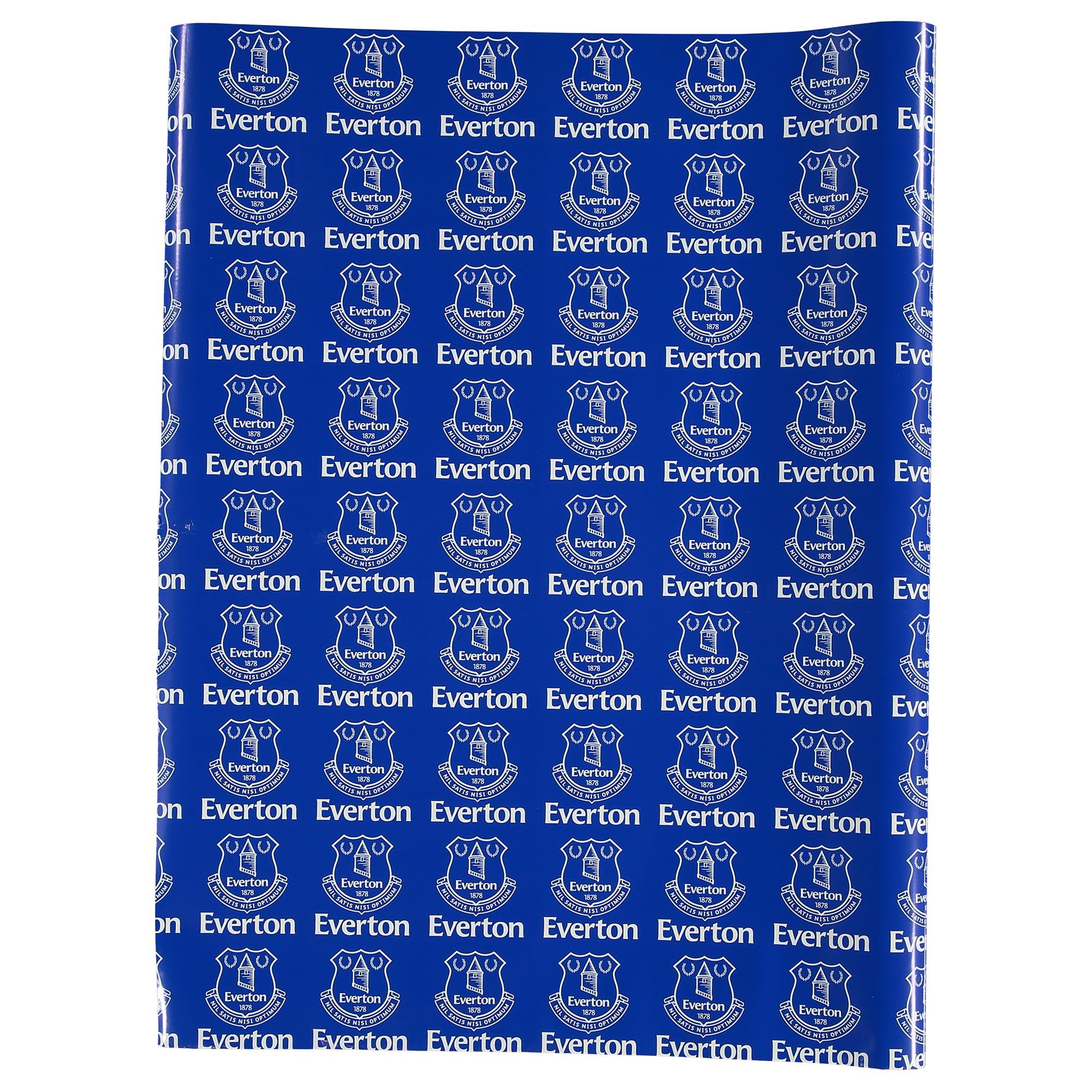 Everton Gift Wrap - 75 x 240 cm