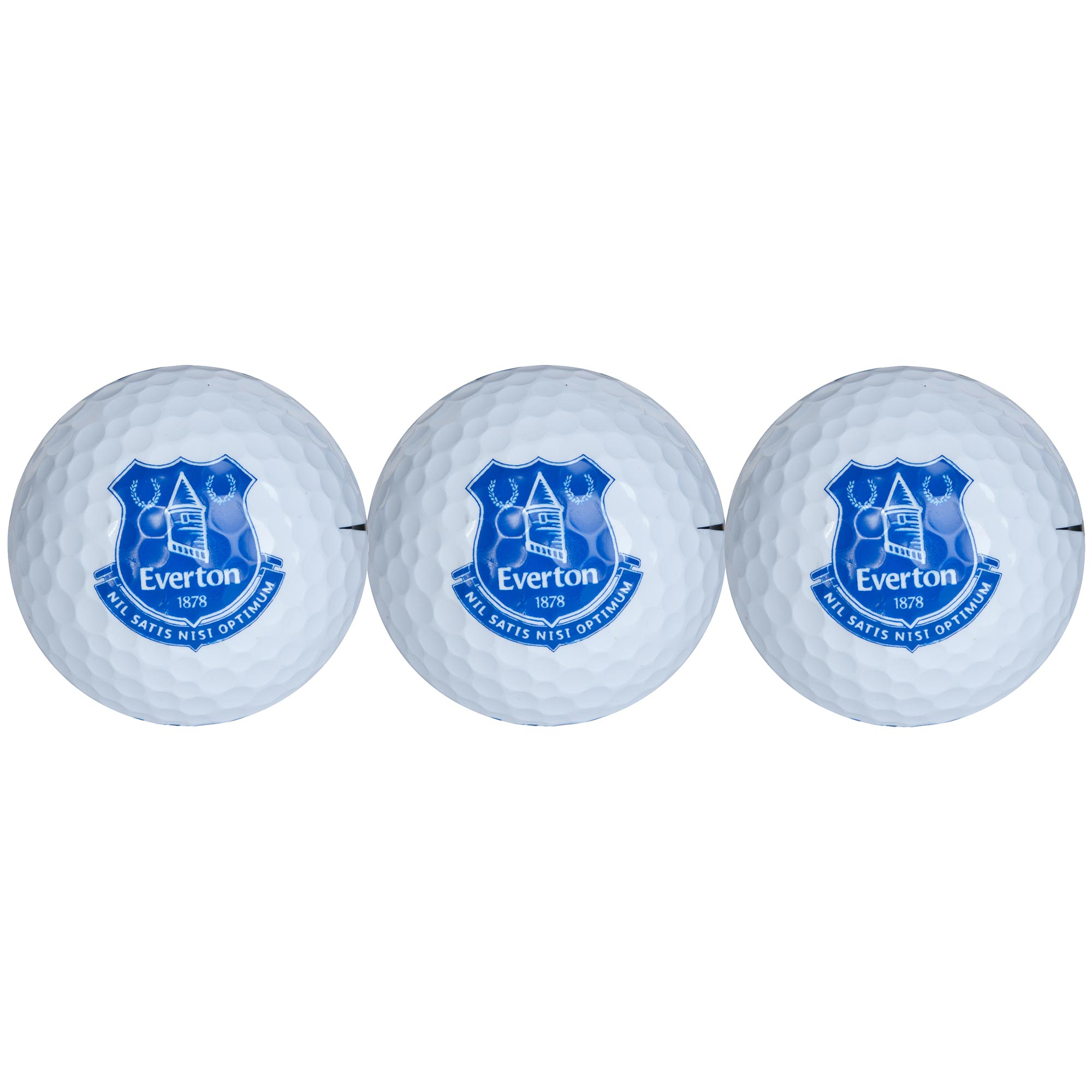 Everton Golf Balls - Pack of 3