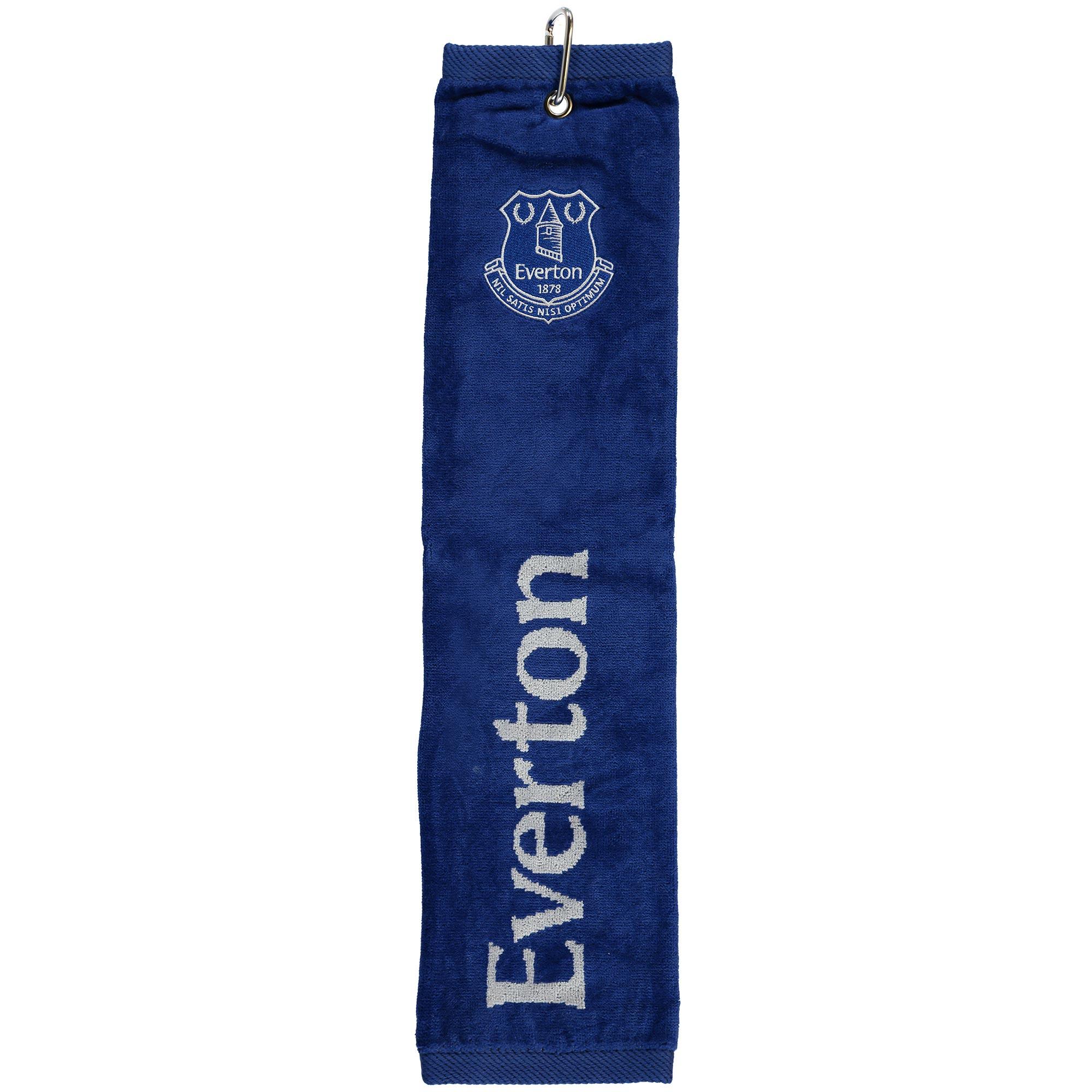 Everton Tri-Fold Golf Towel