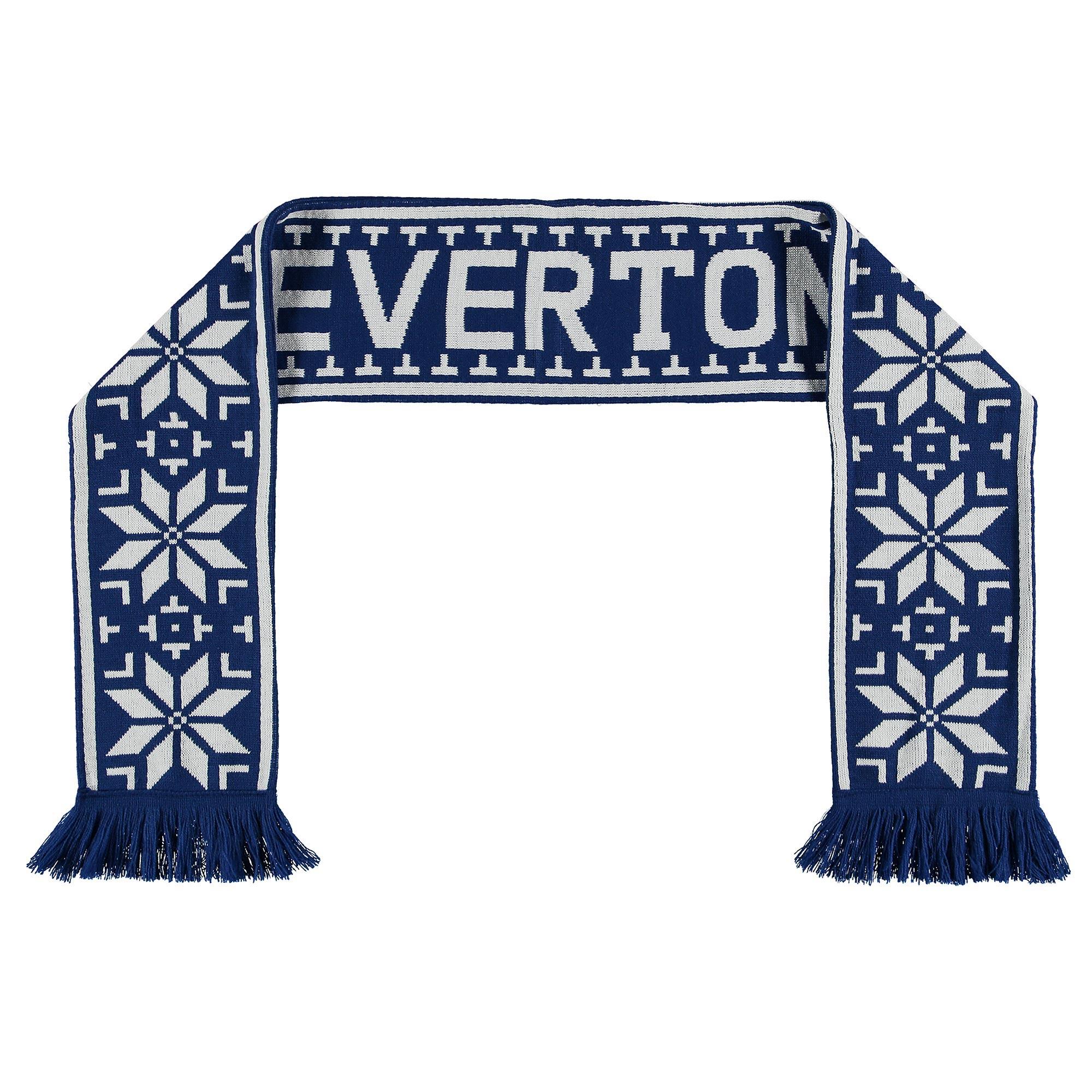 Everton FairIsle Scarf - Royal