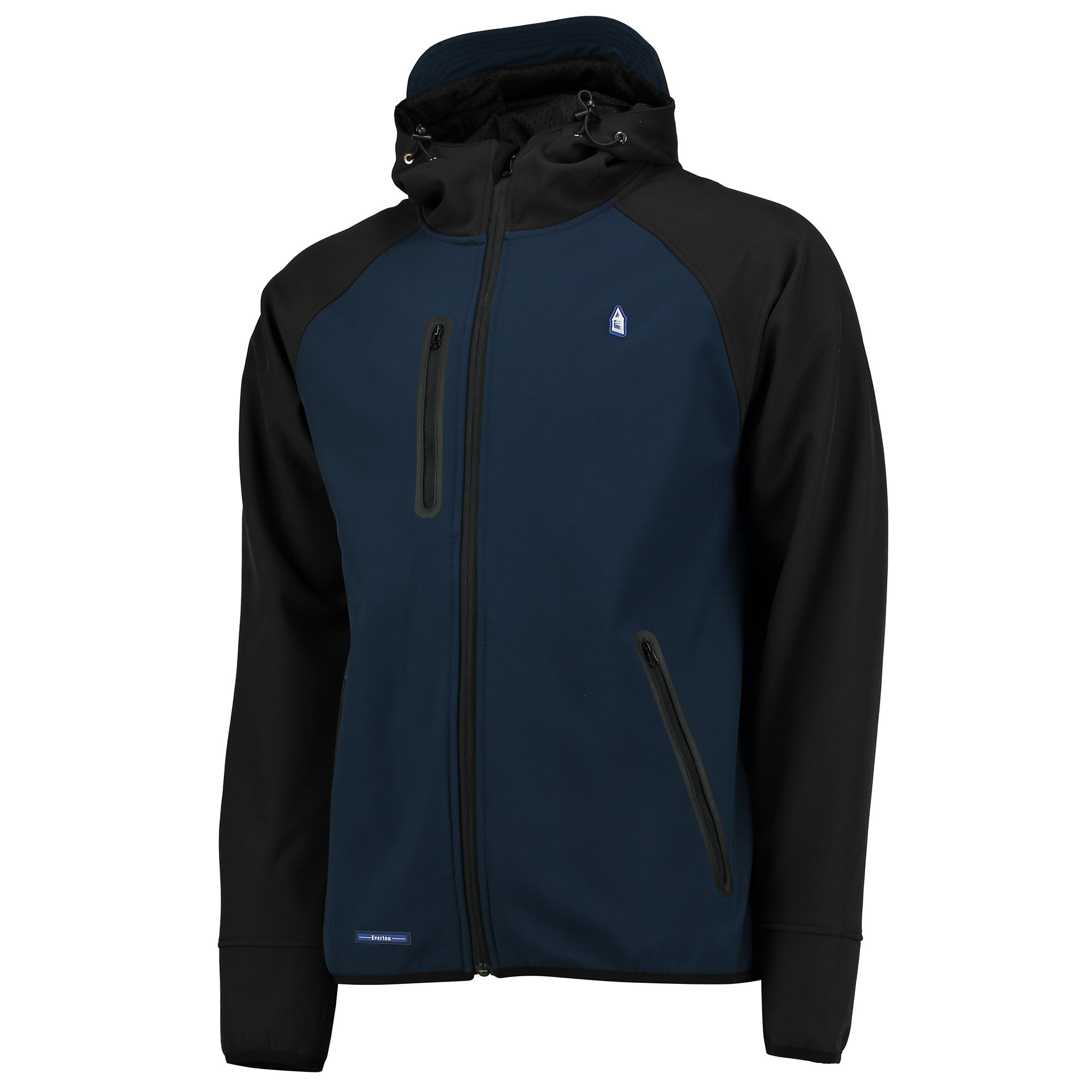 Everton Terrace Softshell Jacket - Navy/Charcoal