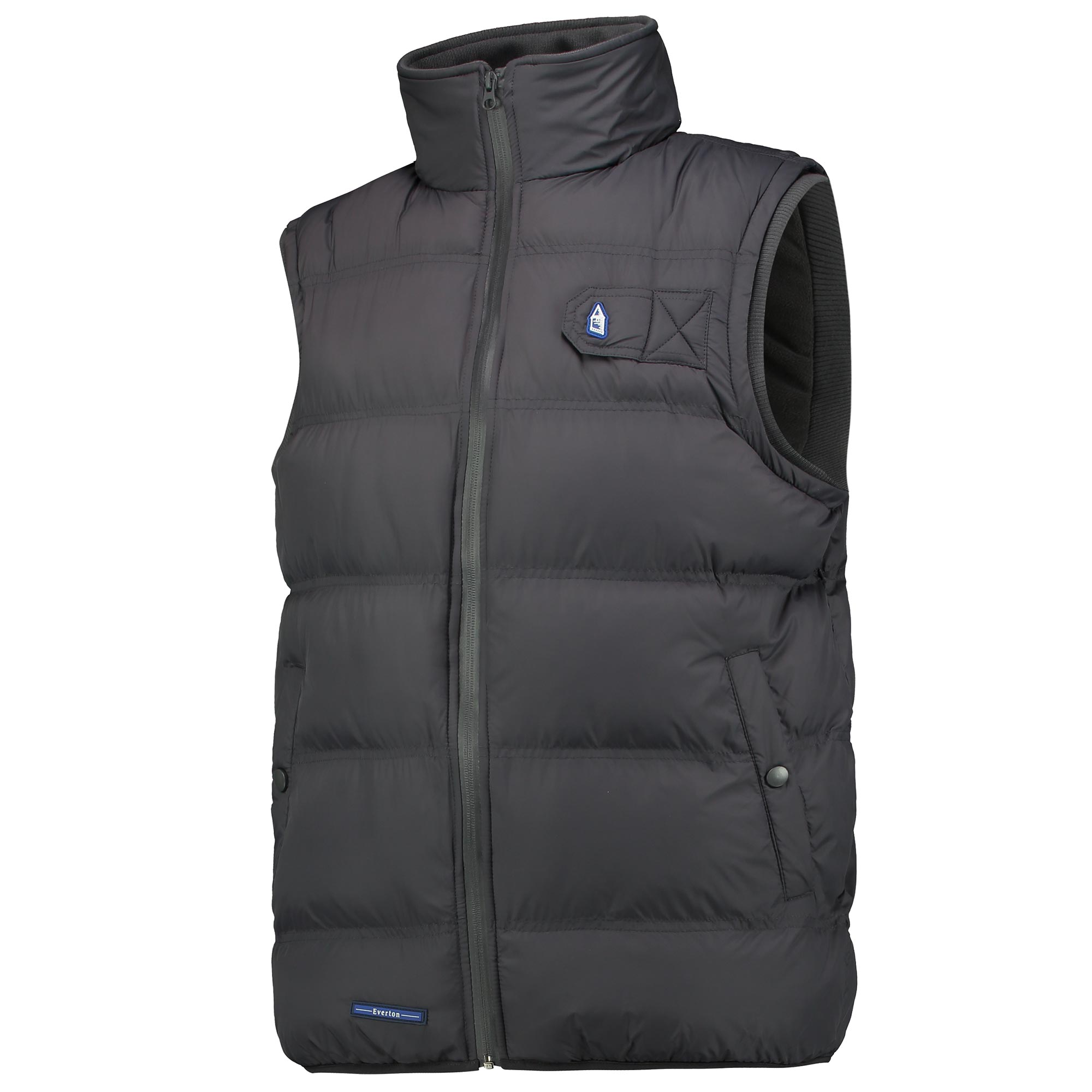Everton Terrace Gilet - Charcoal