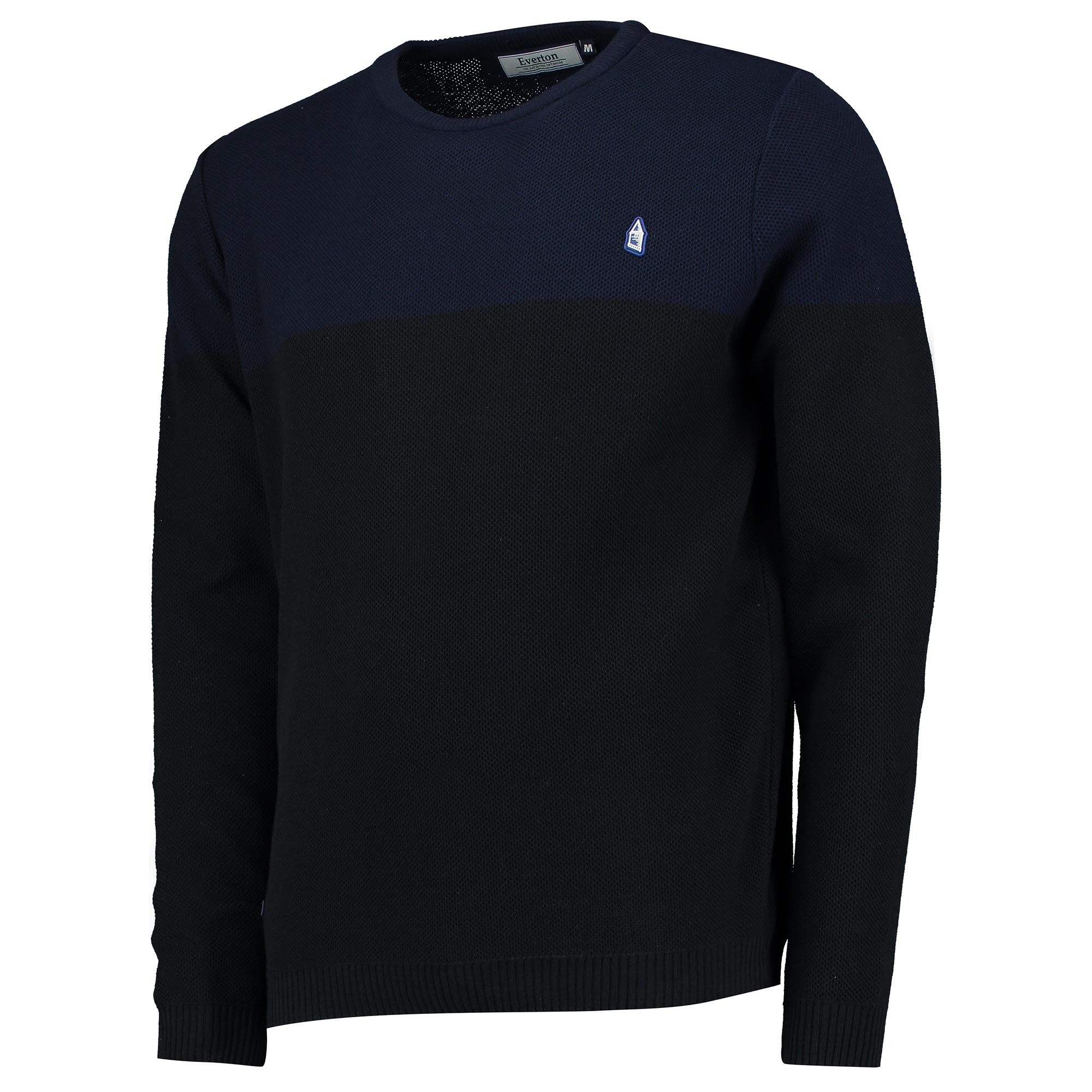 Everton Terrace Knitted Sweater - Navy