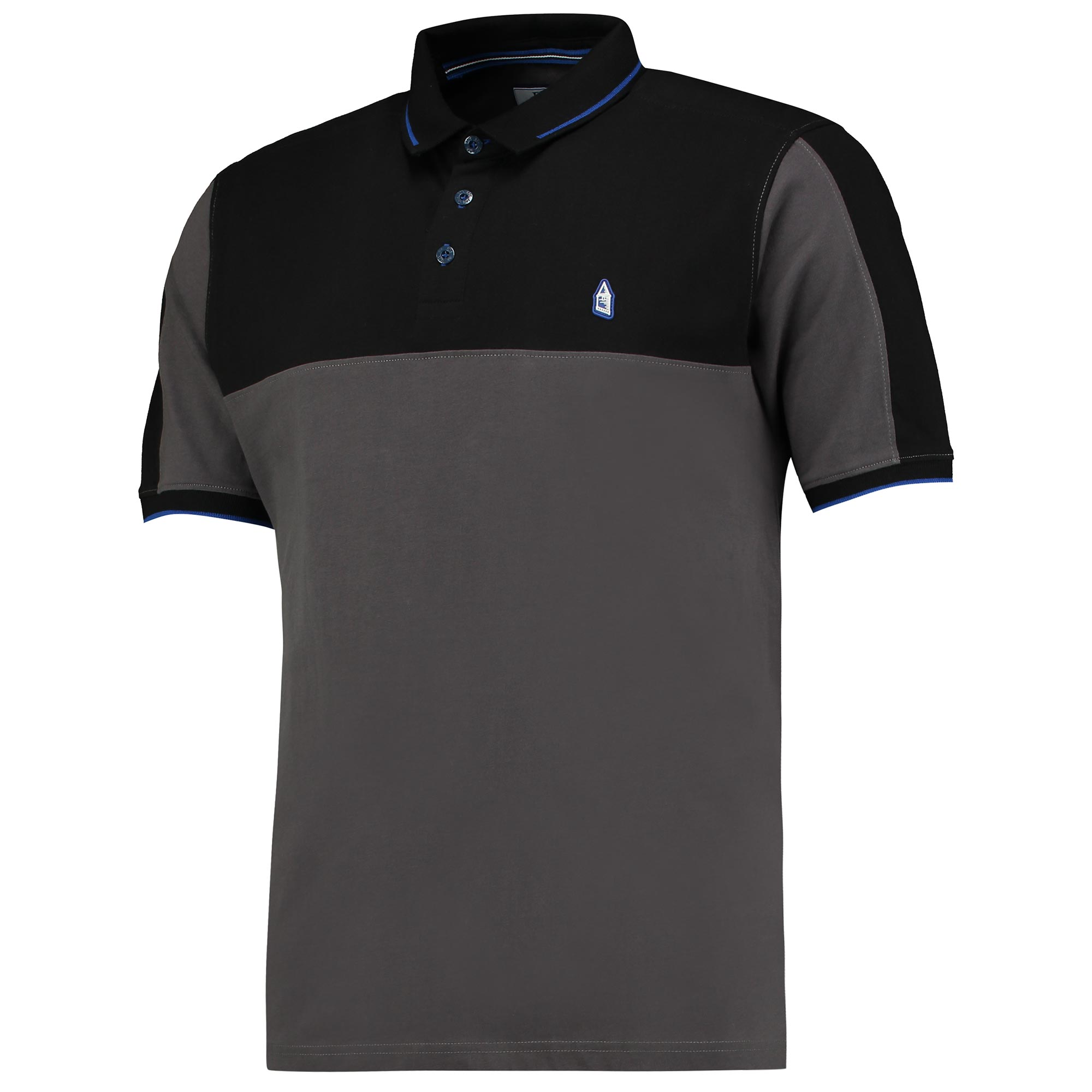 Everton Terrace Polo - Charcoal/Navy