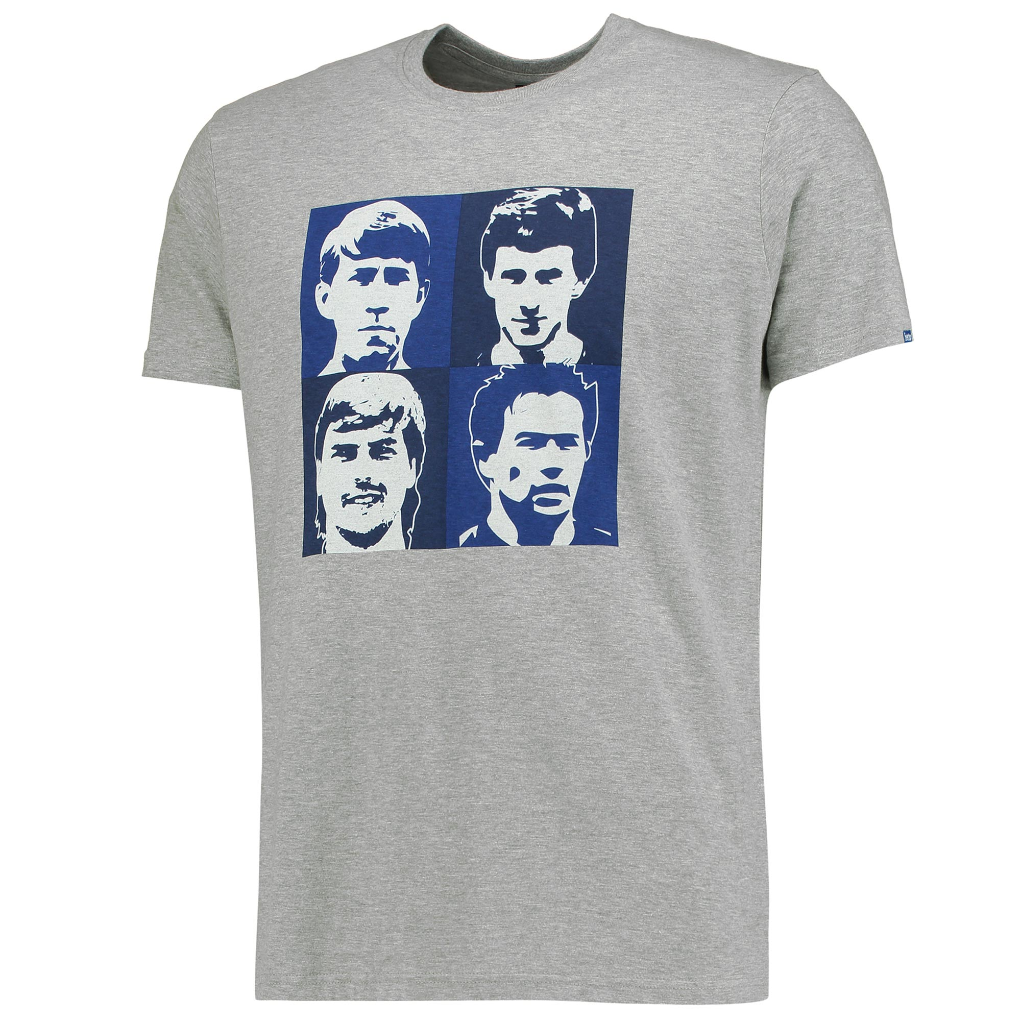 Everton Four T-Shirt - Grey Marl