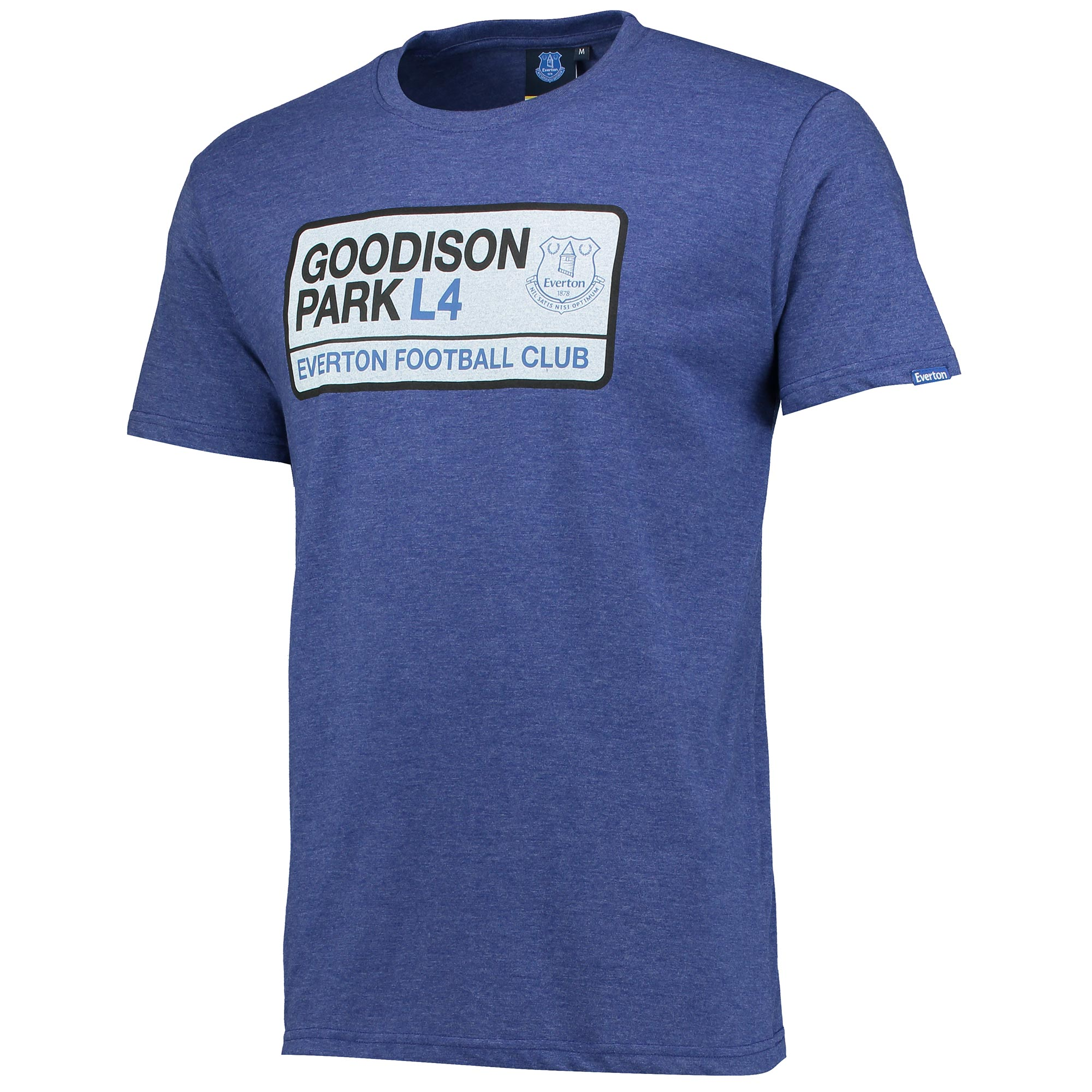 Everton Street Sign T-Shirt - Royal Marl