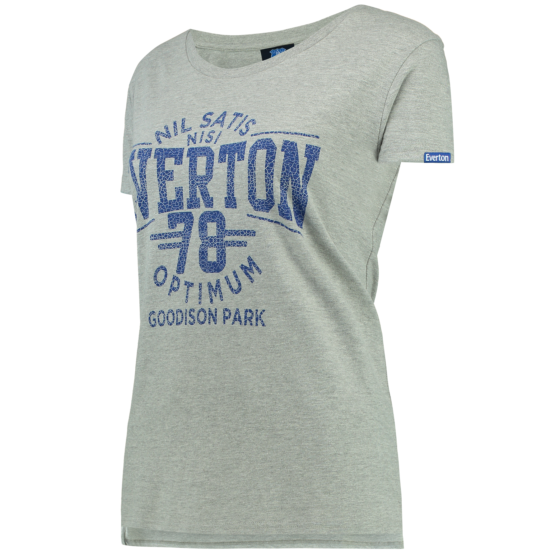 Everton Nil Satis T-Shirt - Grey Marl - Womens