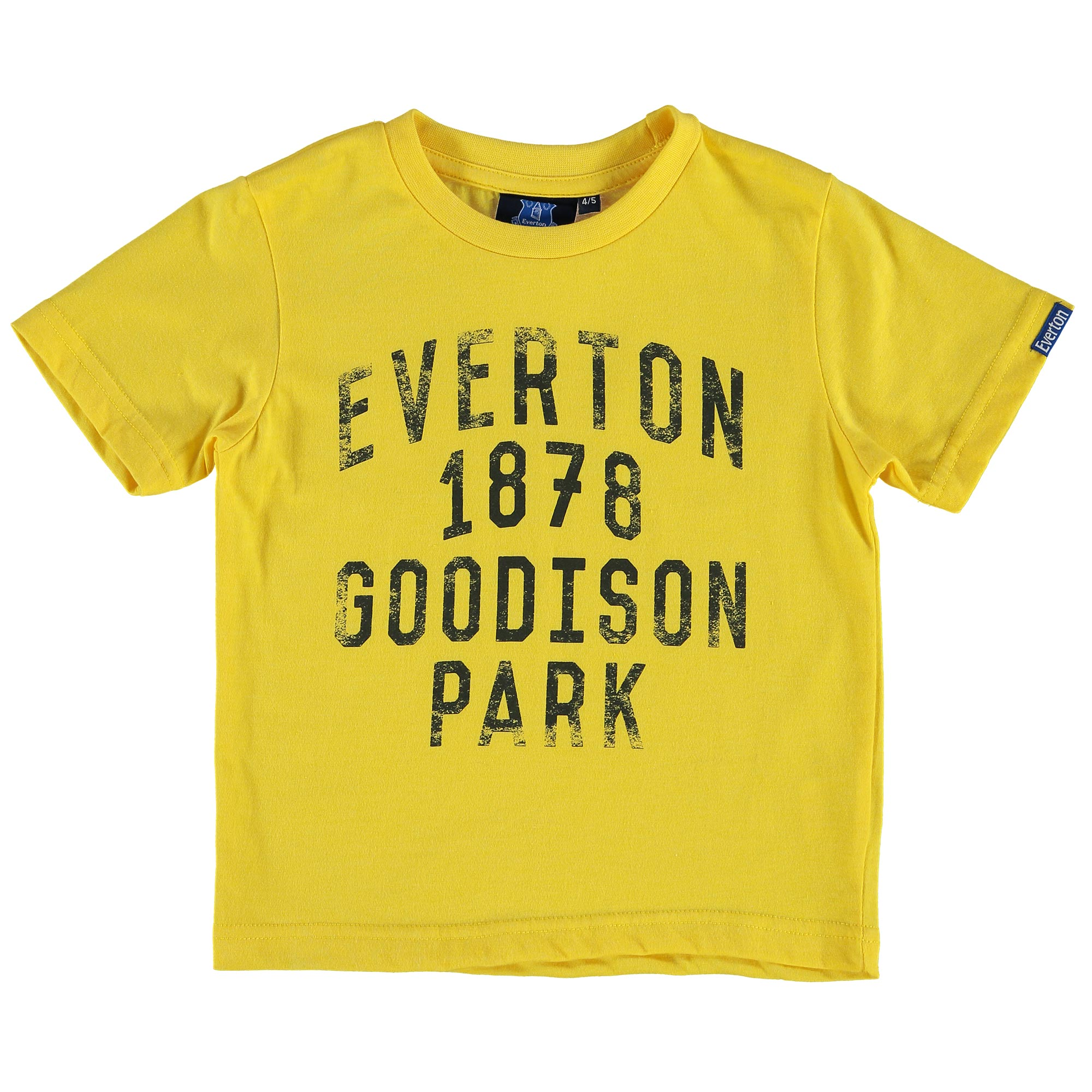 Everton Goodison T-Shirt - Yellow - Junior