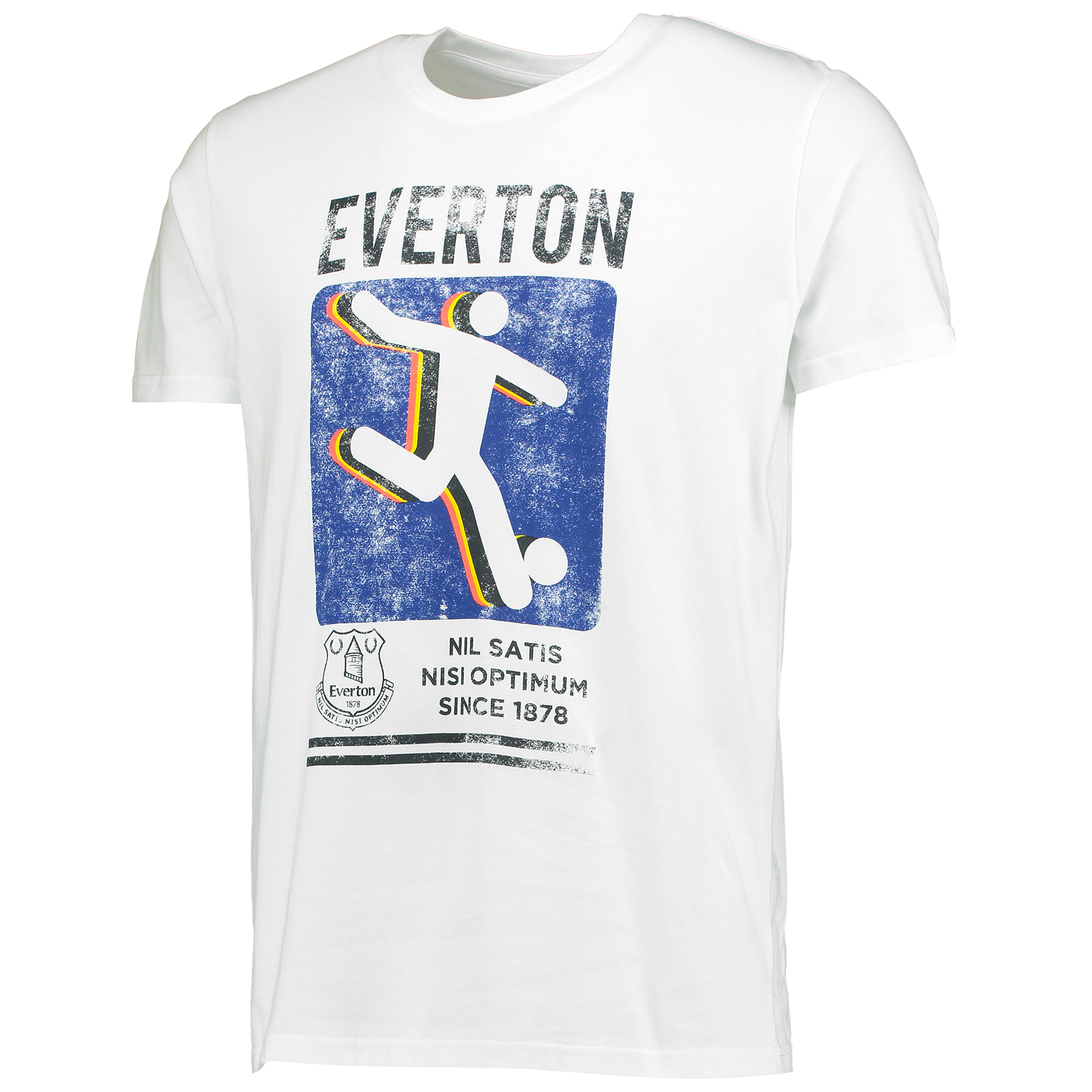 Everton Kick T-Shirt - White