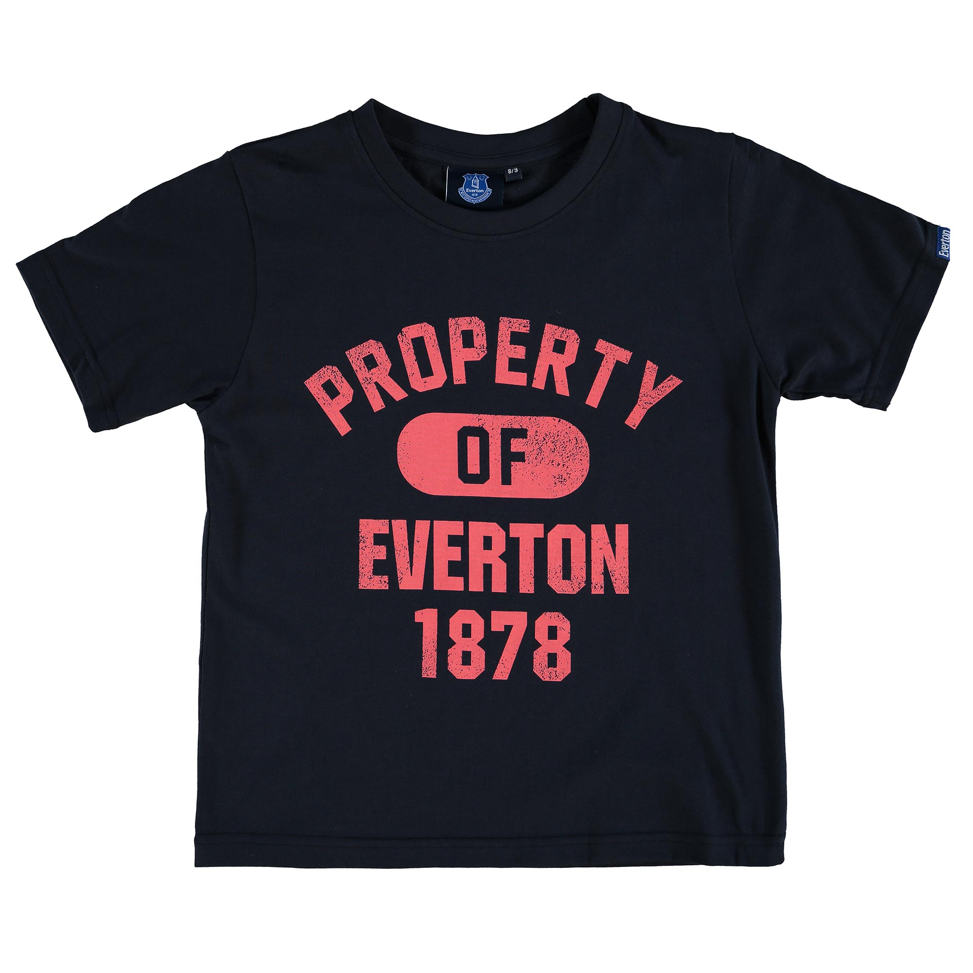 Everton Property T-Shirt - Navy - Junior