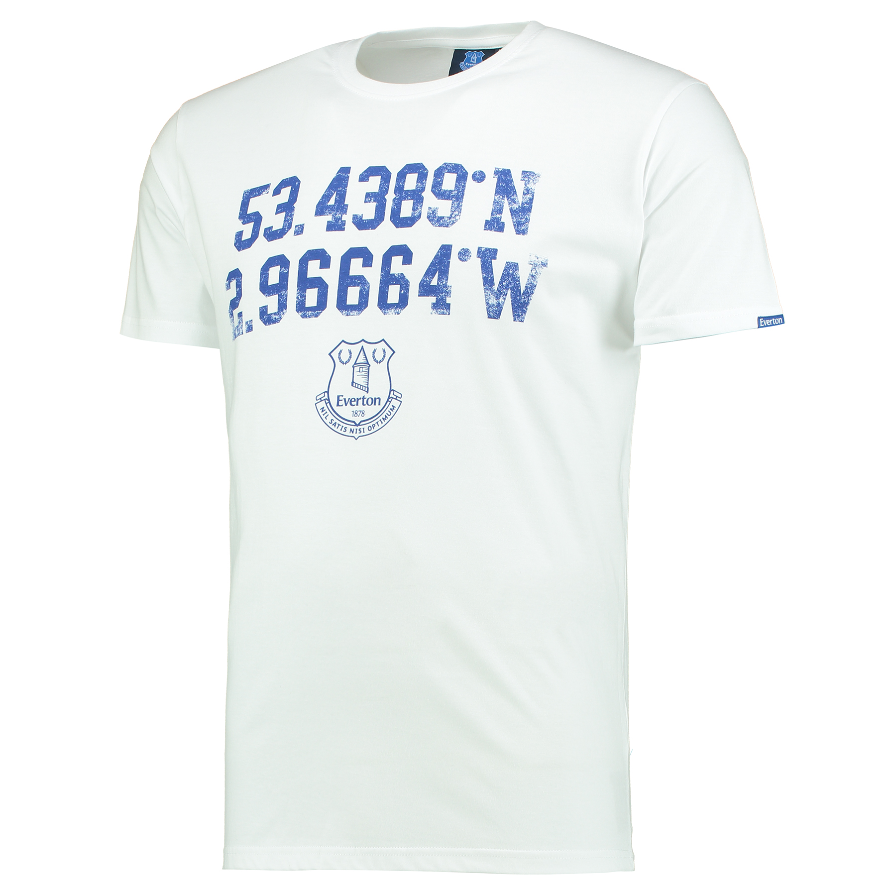 Everton Coordinate T-Shirt - White