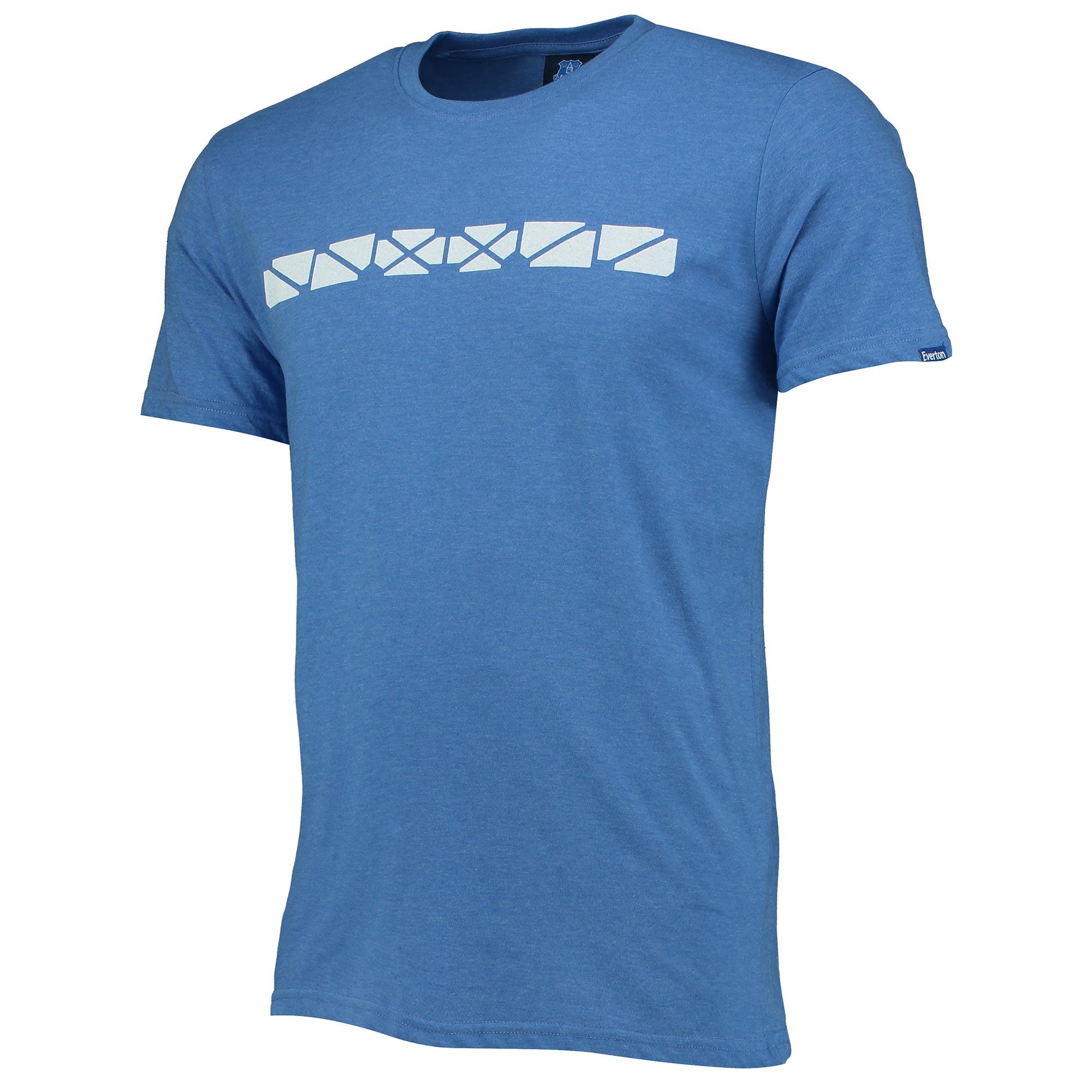 Everton Upper Tier T-Shirt - Royal