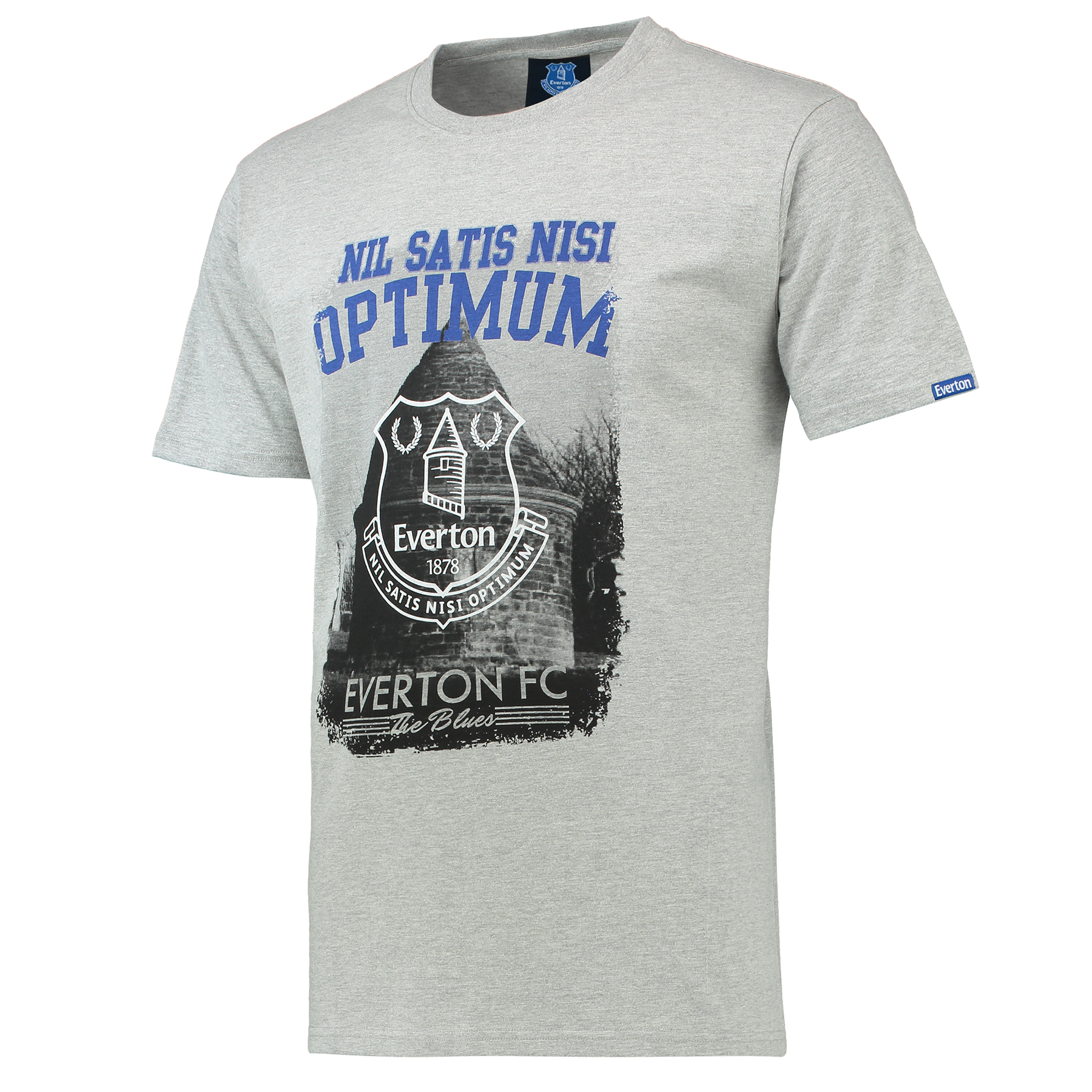 Everton Tower T-Shirt - Grey Marl