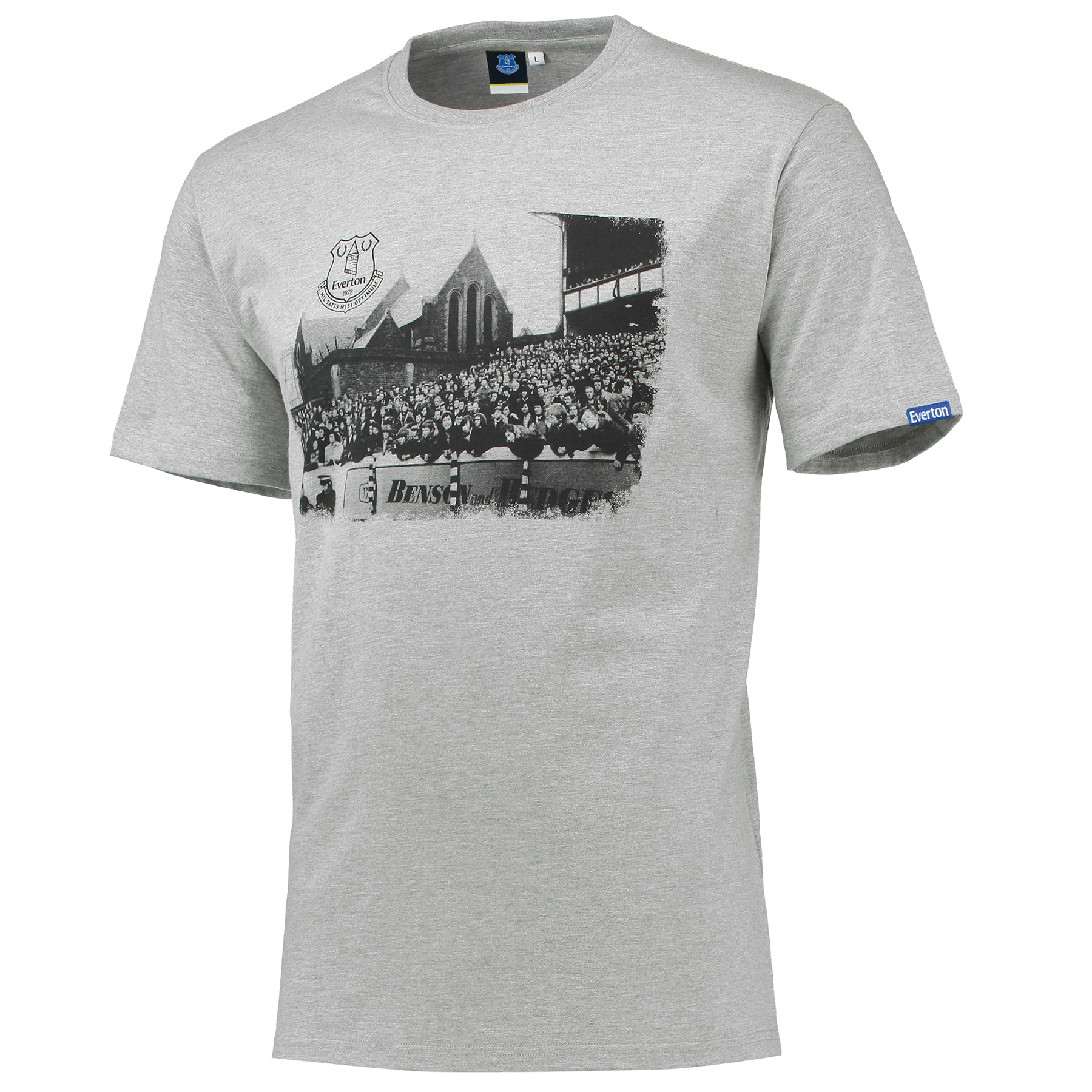 Everton St Luke T-Shirt - Grey Marl
