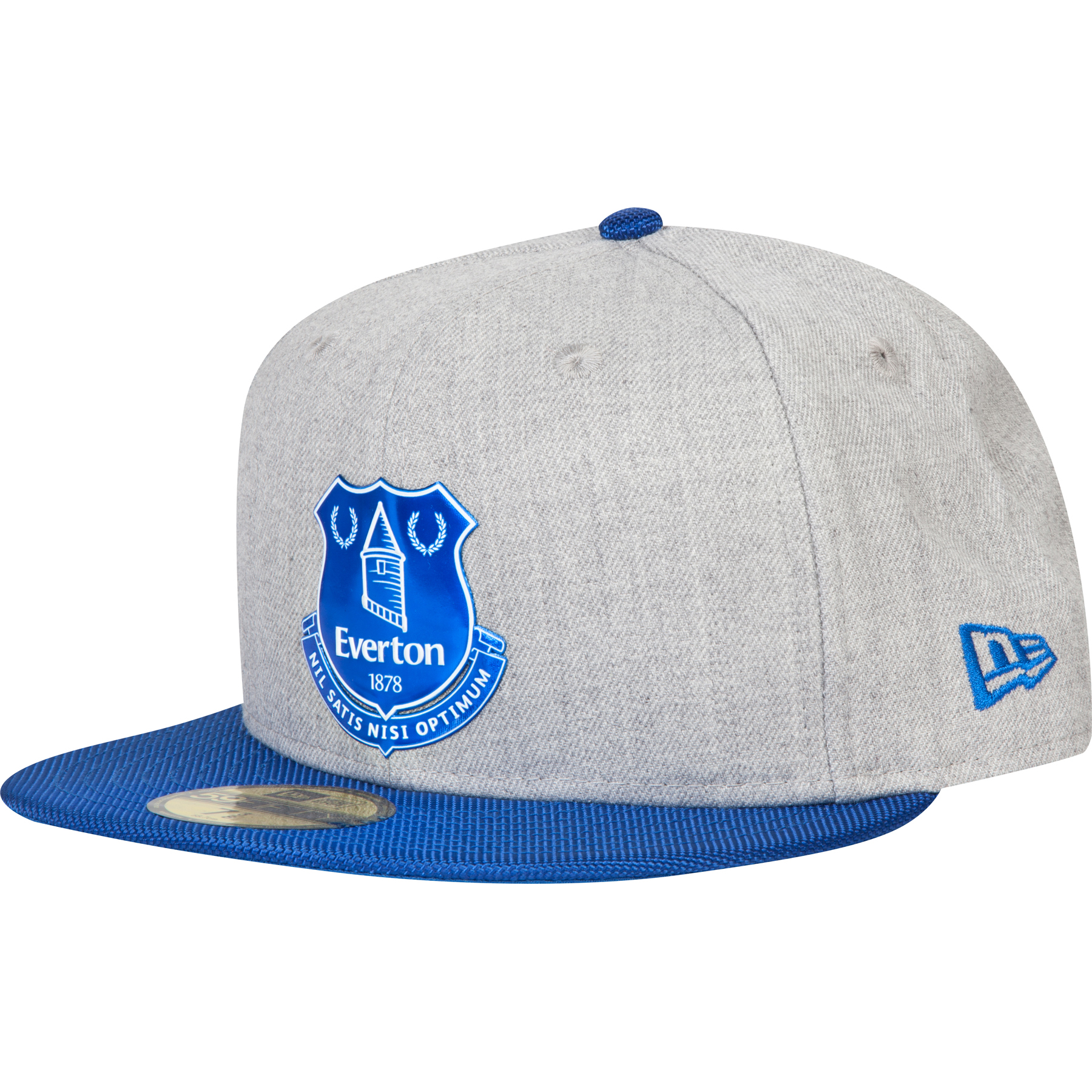 Everton New Era 59 Fifty Fitted Cap - Heather/Royal
