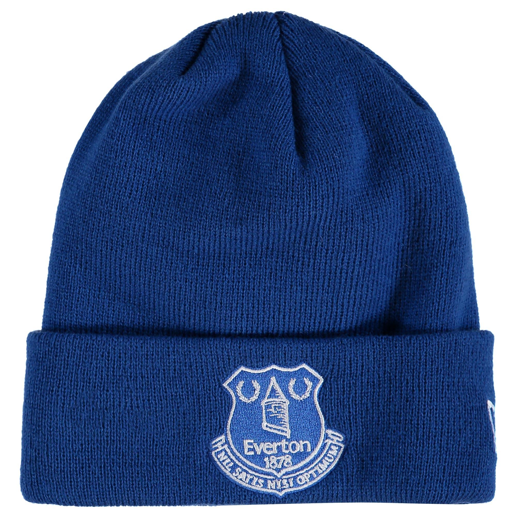Everton New Era Core Cuff Beanie - Royal - Junior